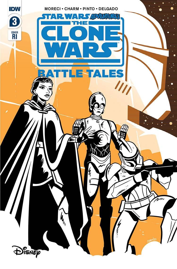 STAR WARS ADVENTURES CLONE WARS #3 (OF 5) 10 COPY INCV CHARM