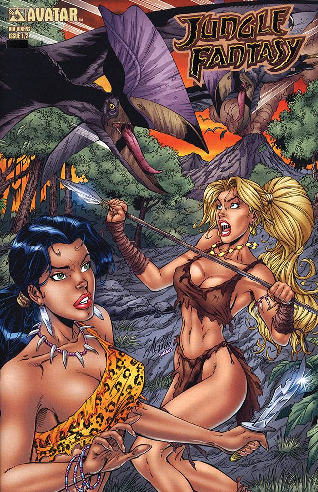 JUNGLE FANTASY (2002) #1/2 PLAT FOIL VAR (MR)