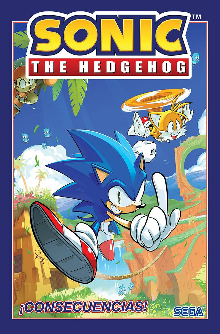 SONIC THE HEDGEHOG SPANISH ED TP VOL 01 CONSECUENCIAS