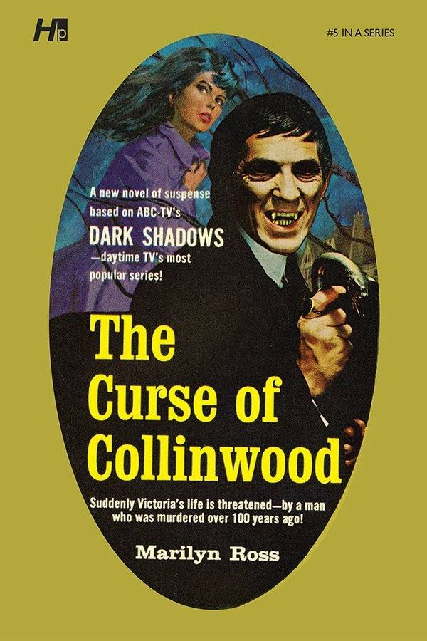 DARK SHADOWS PAPERBACK LIBRARY NOVEL VOL 05 CURSE OF COLLINW
