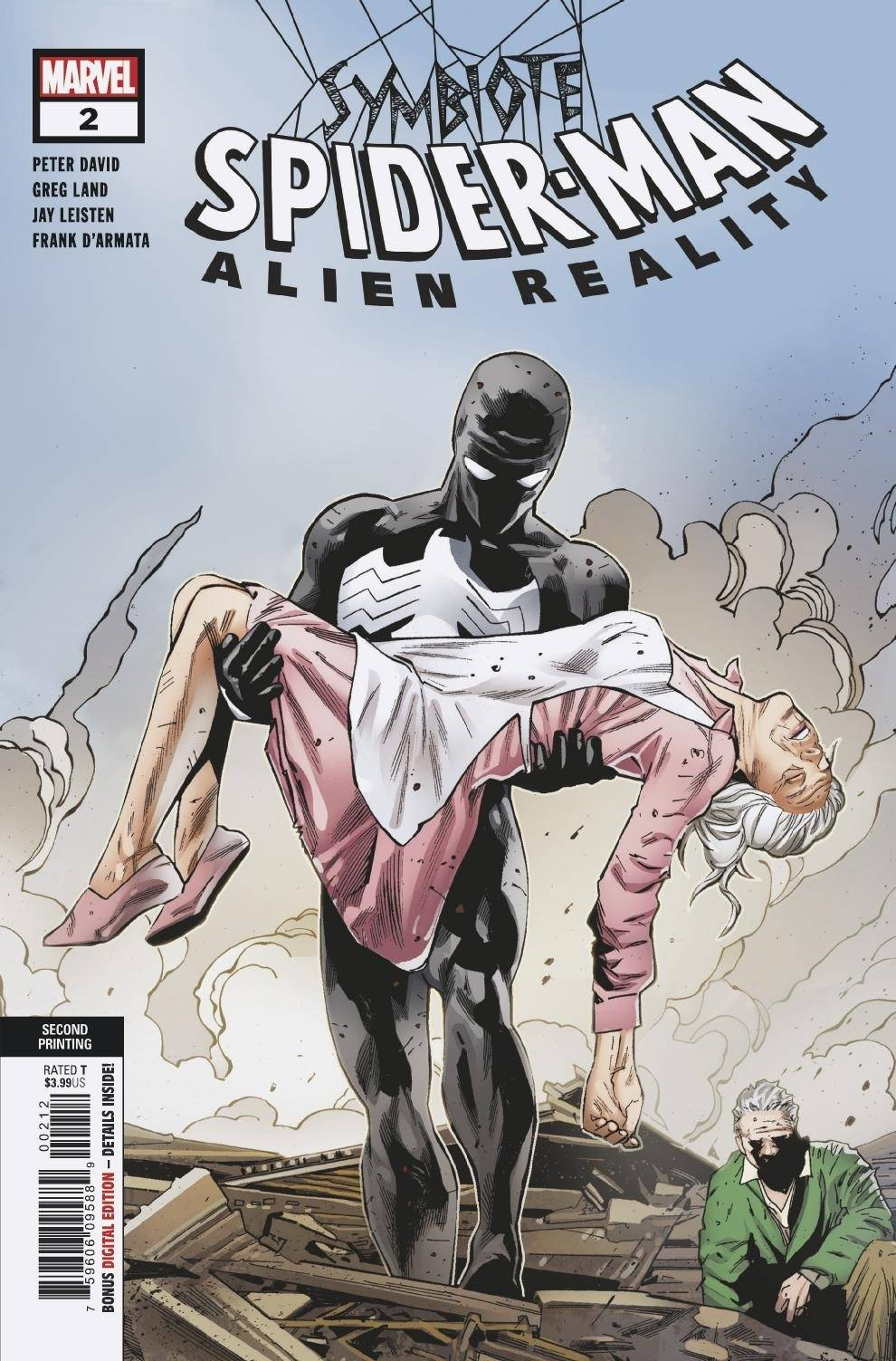 SYMBIOTE SPIDER-MAN ALIEN REALITY #2 (OF 5) 2ND PTG VAR