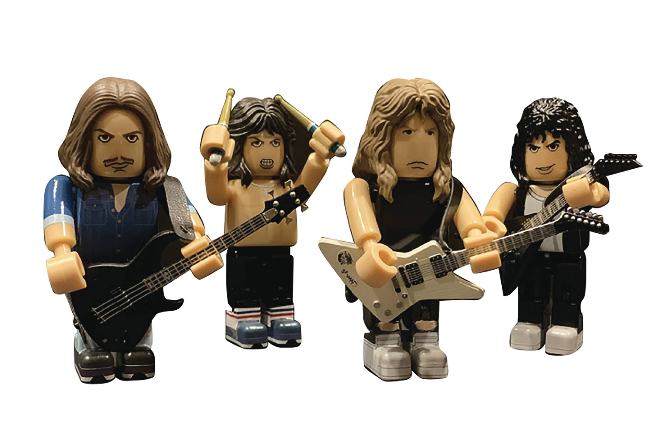 METALLICA PVC MINI FIG SET