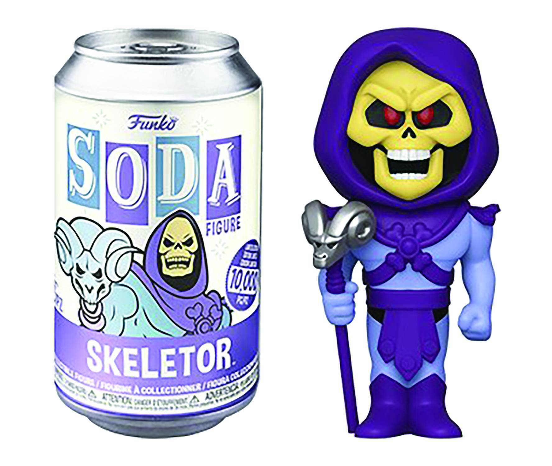 VINYL SODA MOTU SKELETOR VINYL FIG W/CHASE