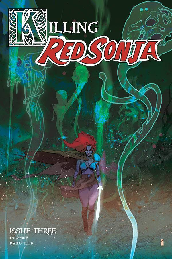 KILLING RED SONJA #3 20 COPY WARD COLOR INCV
