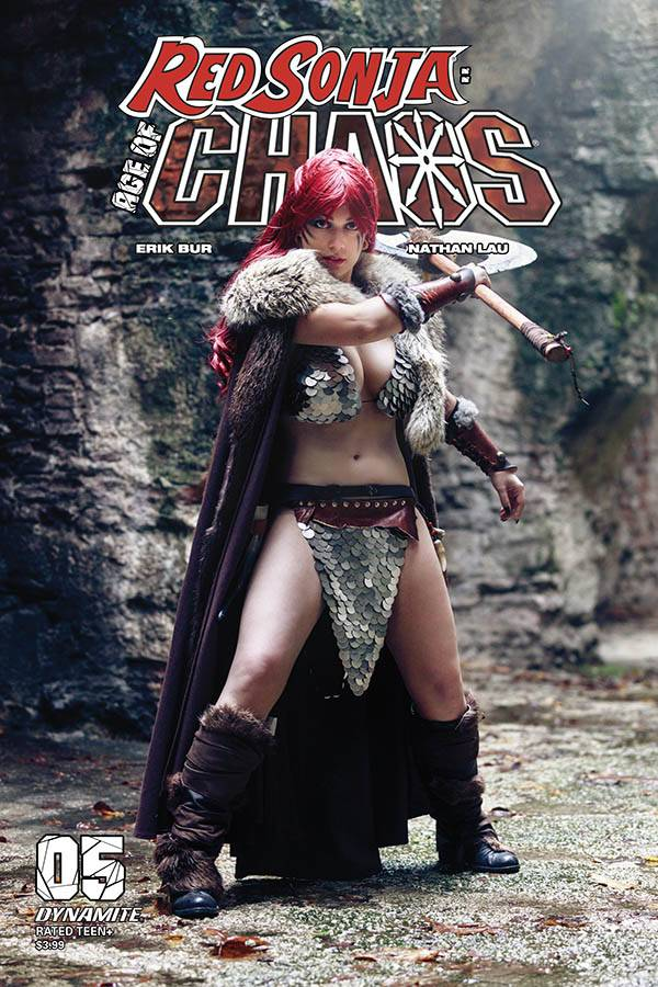 RED SONJA AGE OF CHAOS #5 CVR E SABATTINI COSPLAY