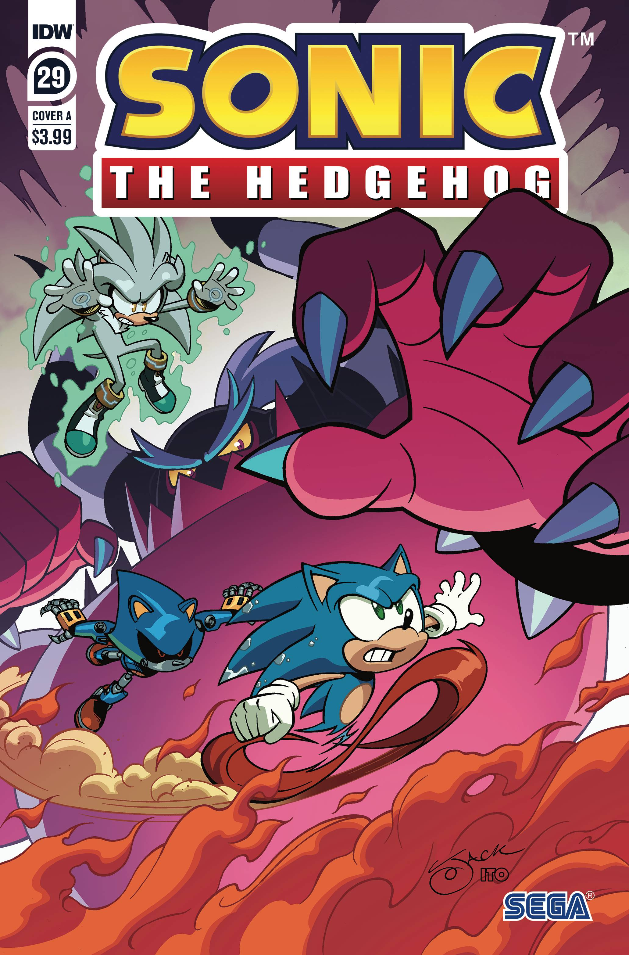 Mar200753 Sonic The Hedgehog 29 Cvr A Lawrence Previews World