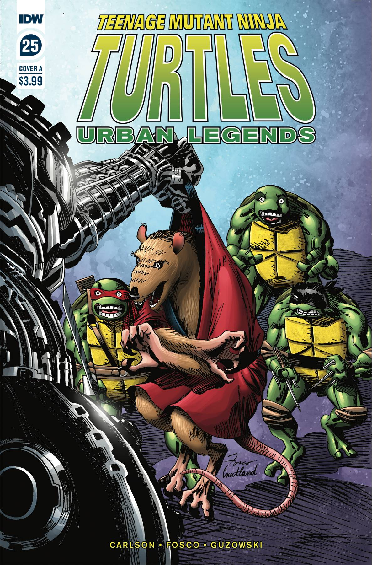 TMNT URBAN LEGENDS #25 CVR A FOSCO