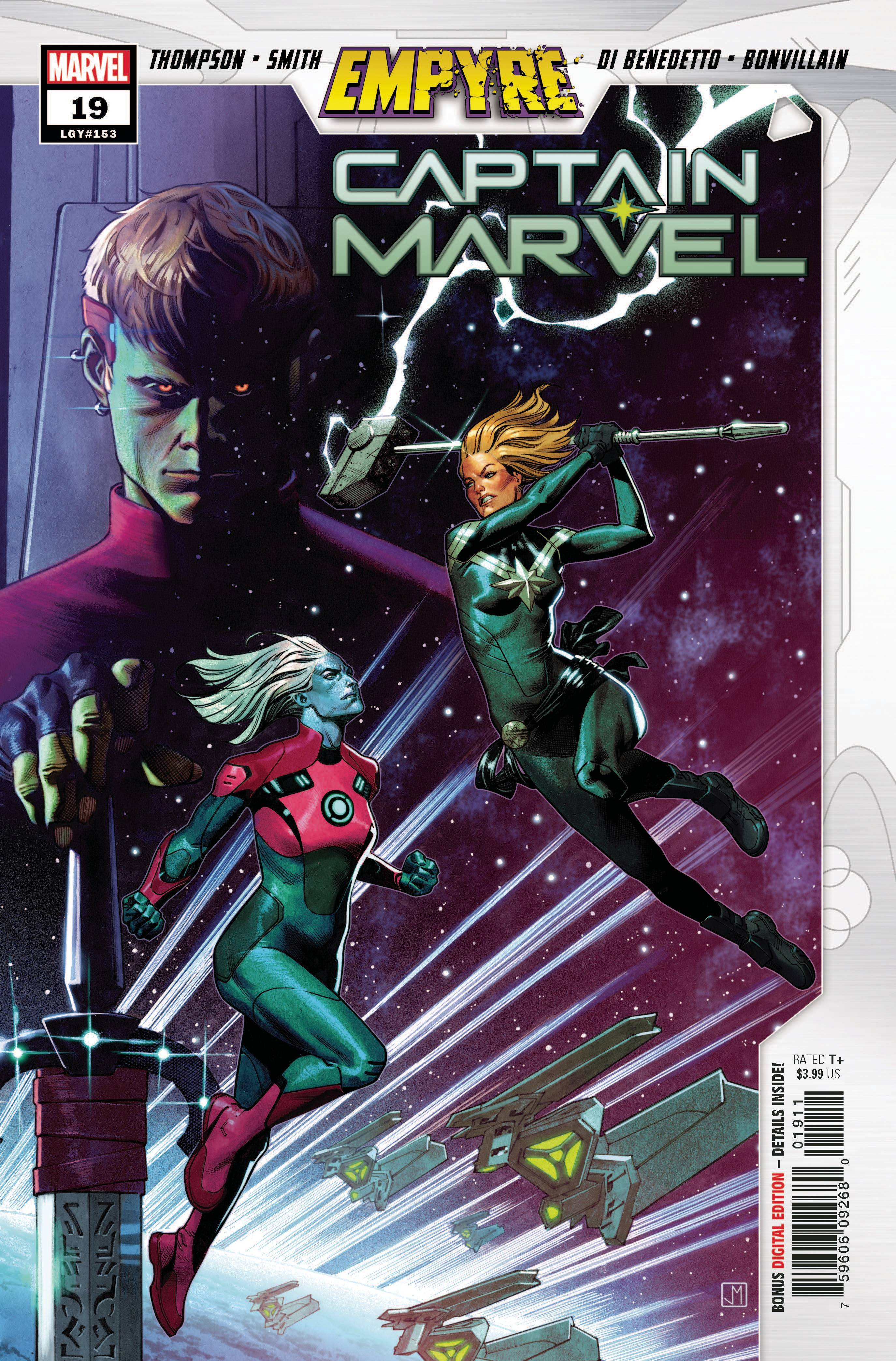 CAPTAIN MARVEL #19 EMP
