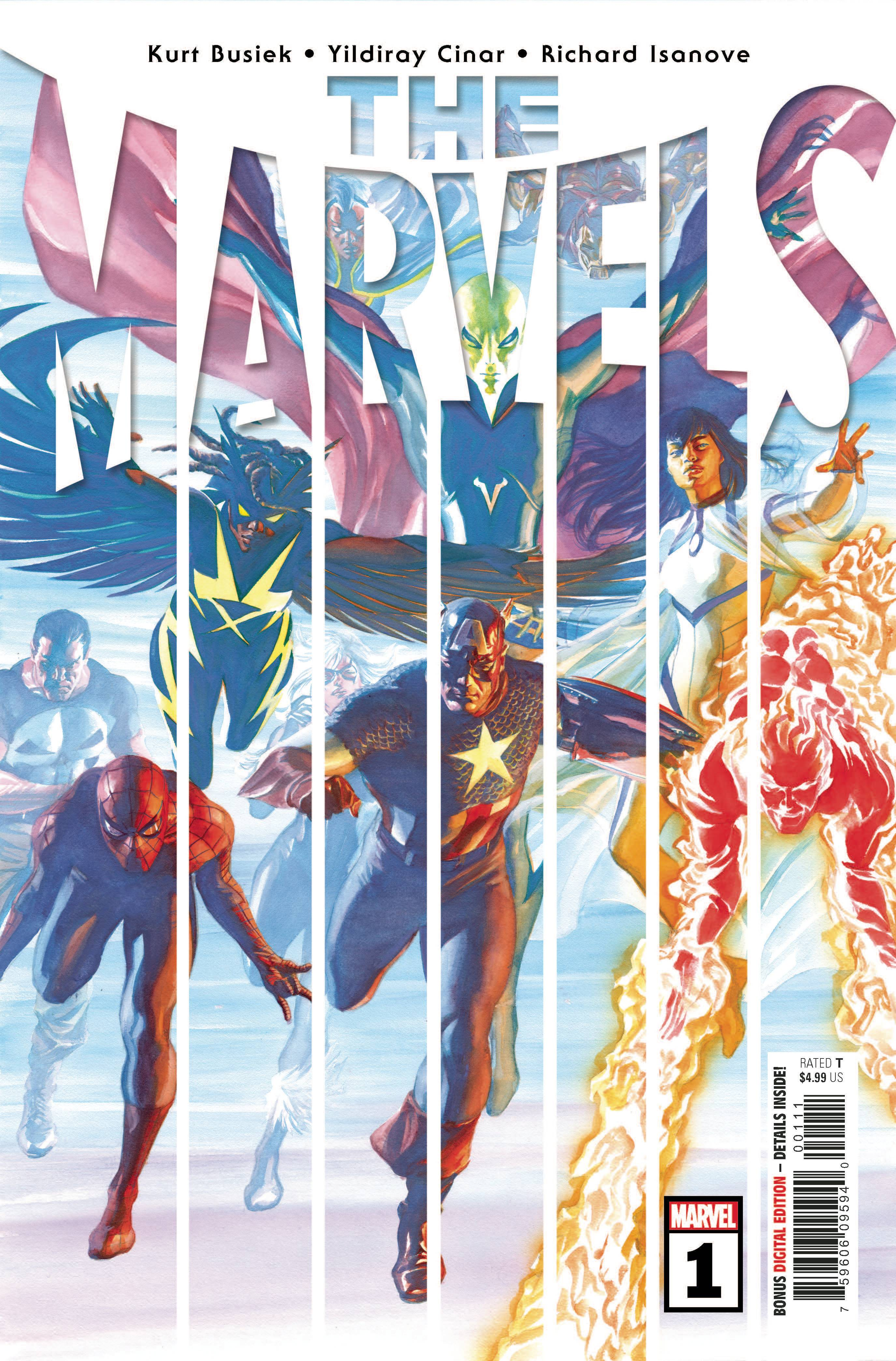 Mar200959 The Marvels 1 Previews World