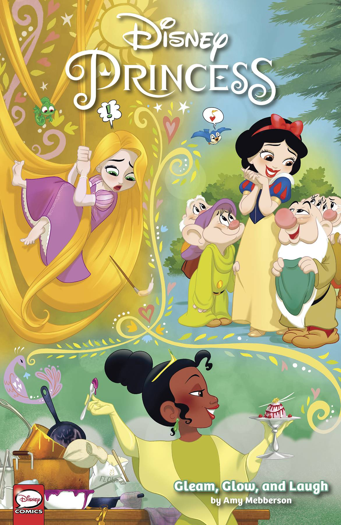 DISNEY PRINCESS GLEAM GLOW & LAUGH TP (RES)