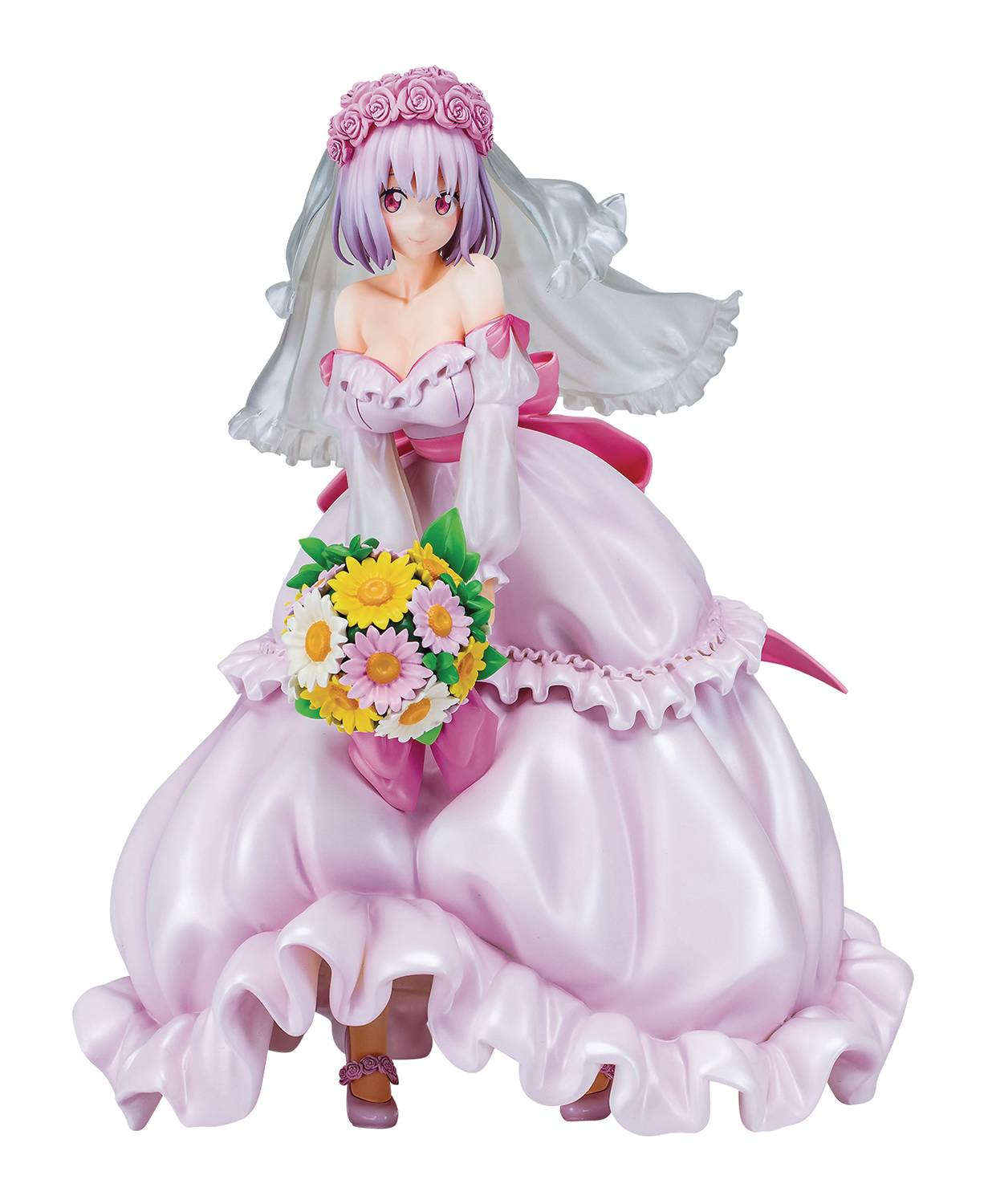 SSSS GRIDMAN AKANE SHINJO 1/8 PMMA FIG WEDDING DRESS VER