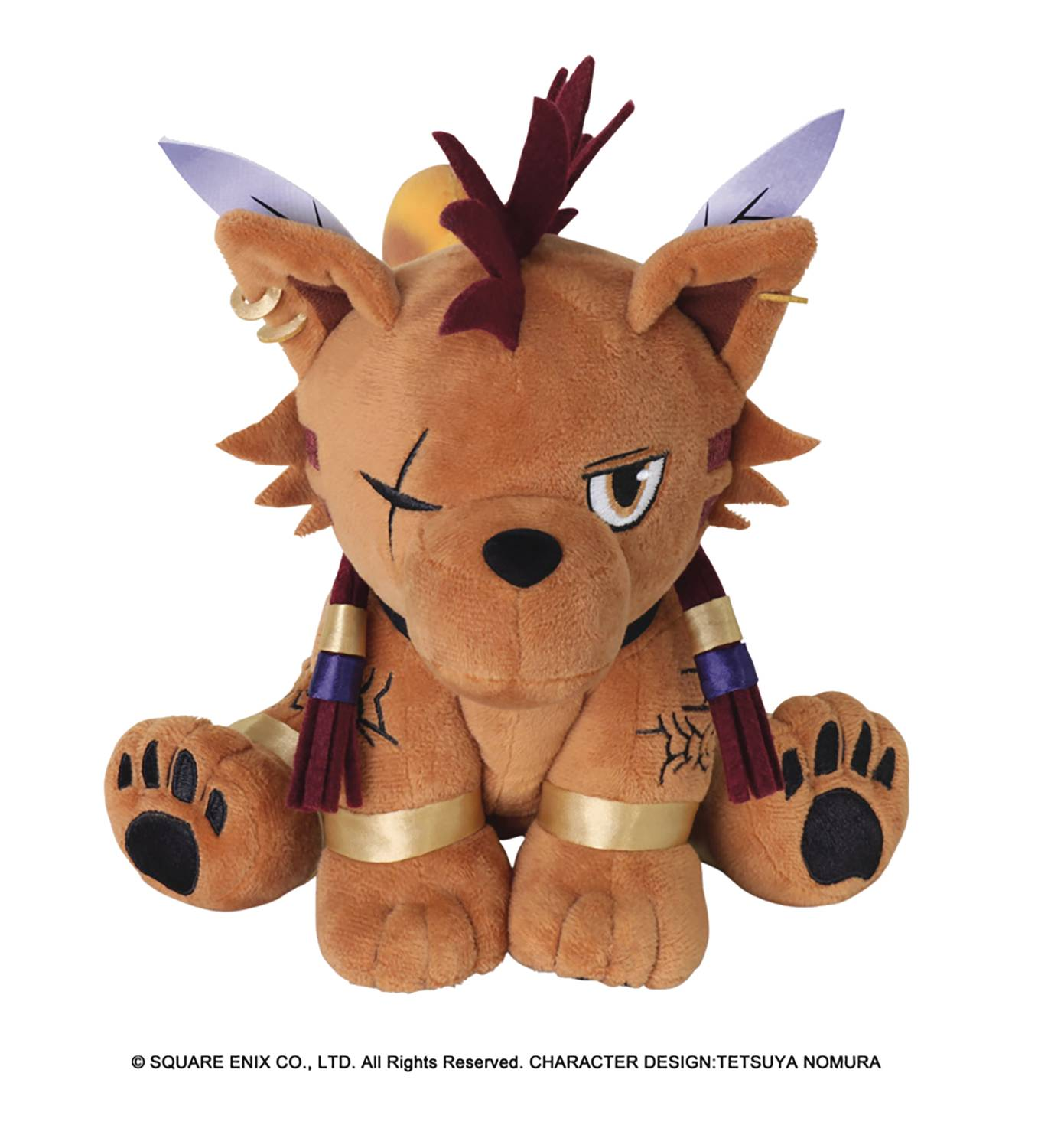 FINAL FANTASY VII RED XIII PLUSH ACTION DOLL