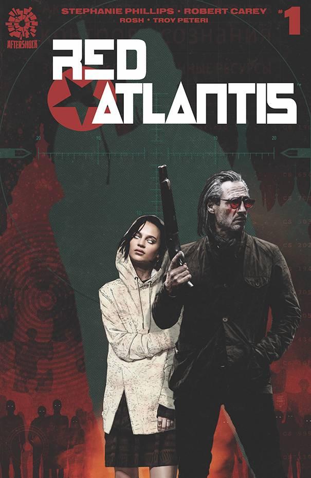 RED ATLANTIS #1 15 COPY BRADSTREET INCV (RES)