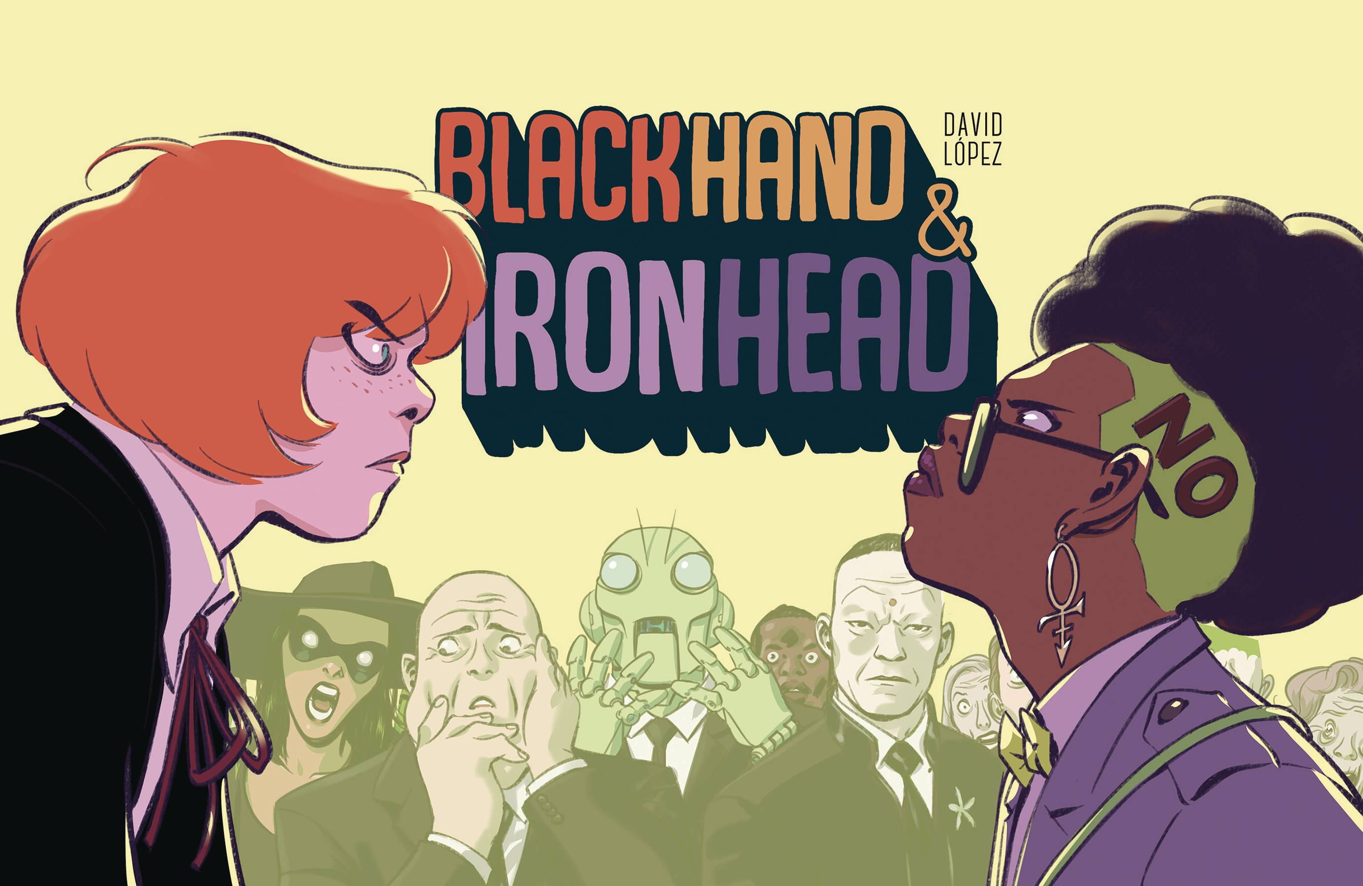 BLACKHAND & IRONHEAD HC VOL 01