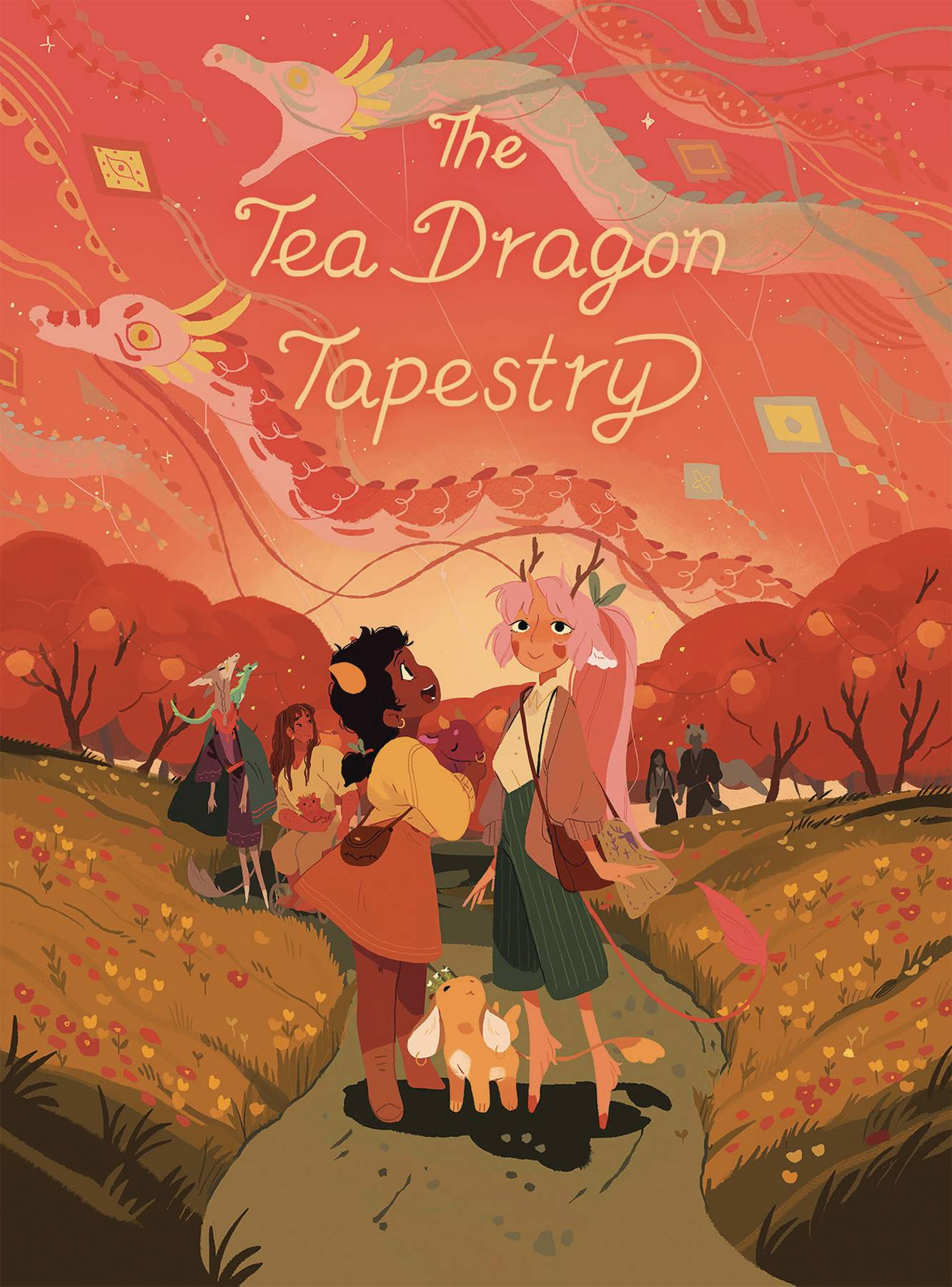 THE TEA DRAGON TAPESTRY HC