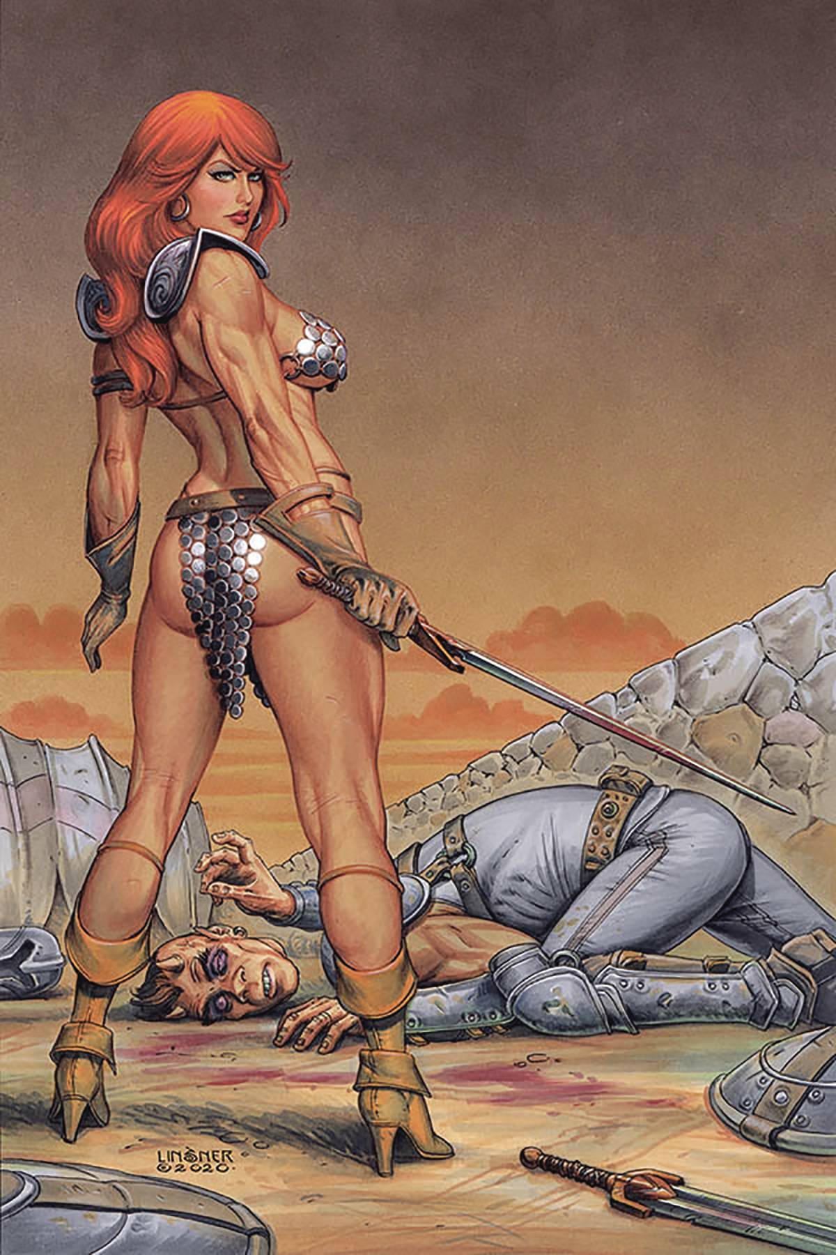 RED SONJA #17 LINSNER LTD VIRGIN CVR