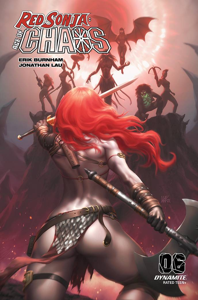 RED SONJA AGE OF CHAOS #6 10 COPY KUNKKA INCV