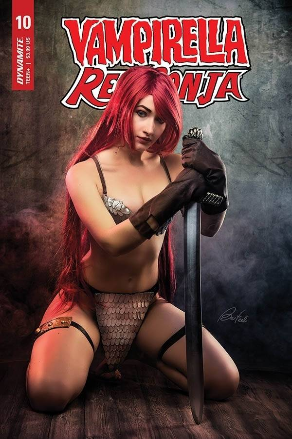 VAMPIRELLA RED SONJA #10 CVR D BLOOM COSPLAY