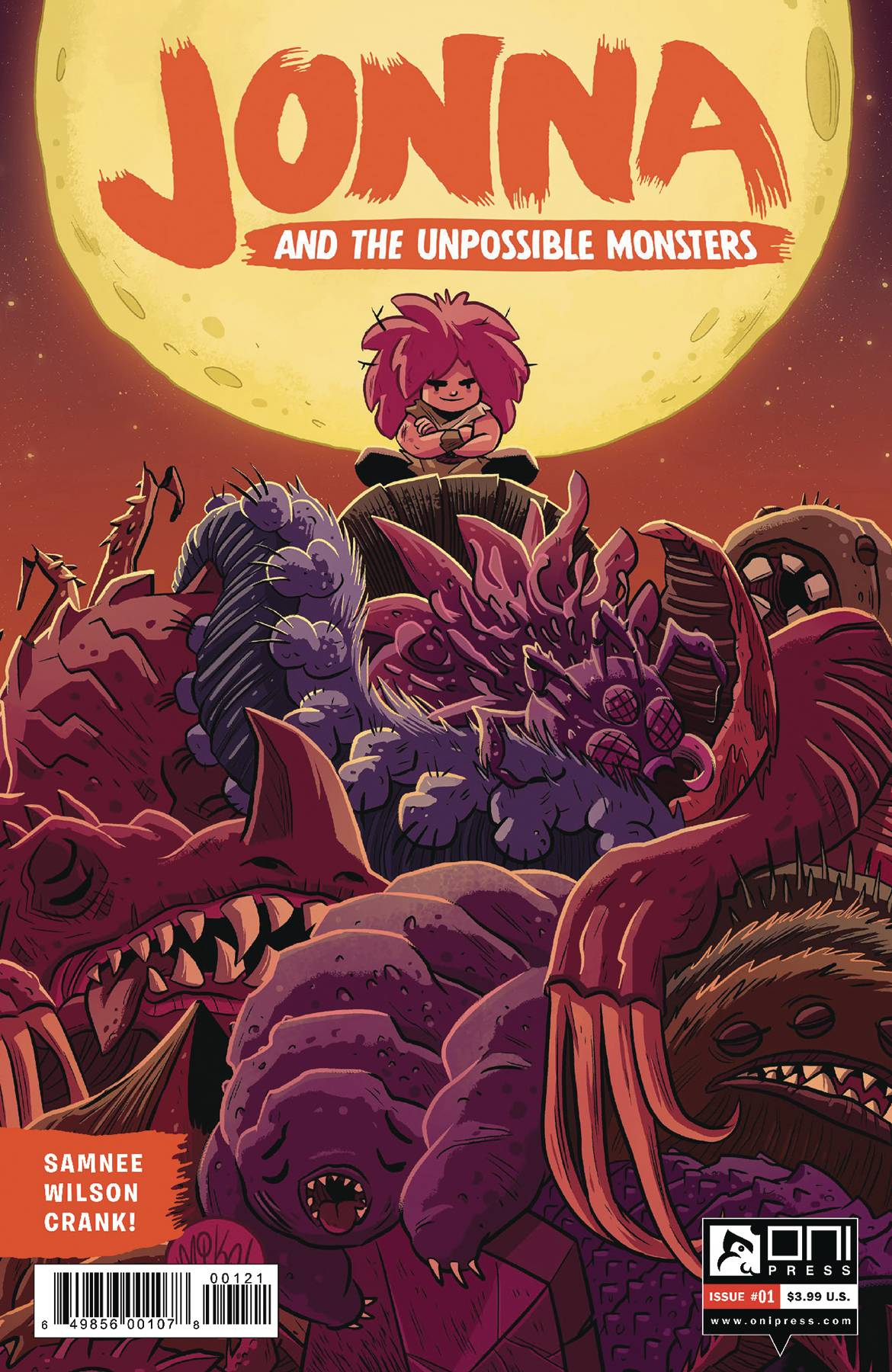 JONNA AND THE UNPOSSIBLE MONSTERS #1 CVR B MAIHACK