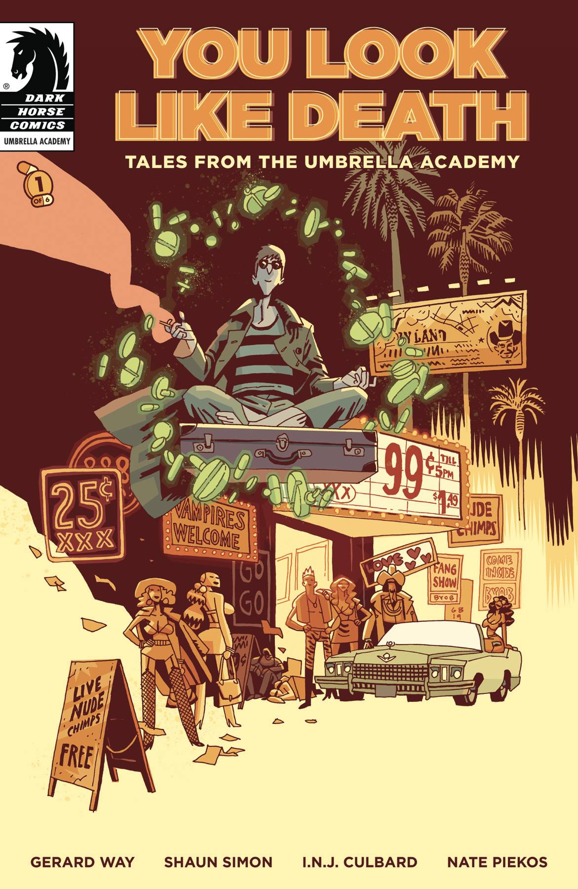 YOU LOOK LIKE DEATH TALES UMBRELLA ACADEMY #1 (OF 6) CVR A G