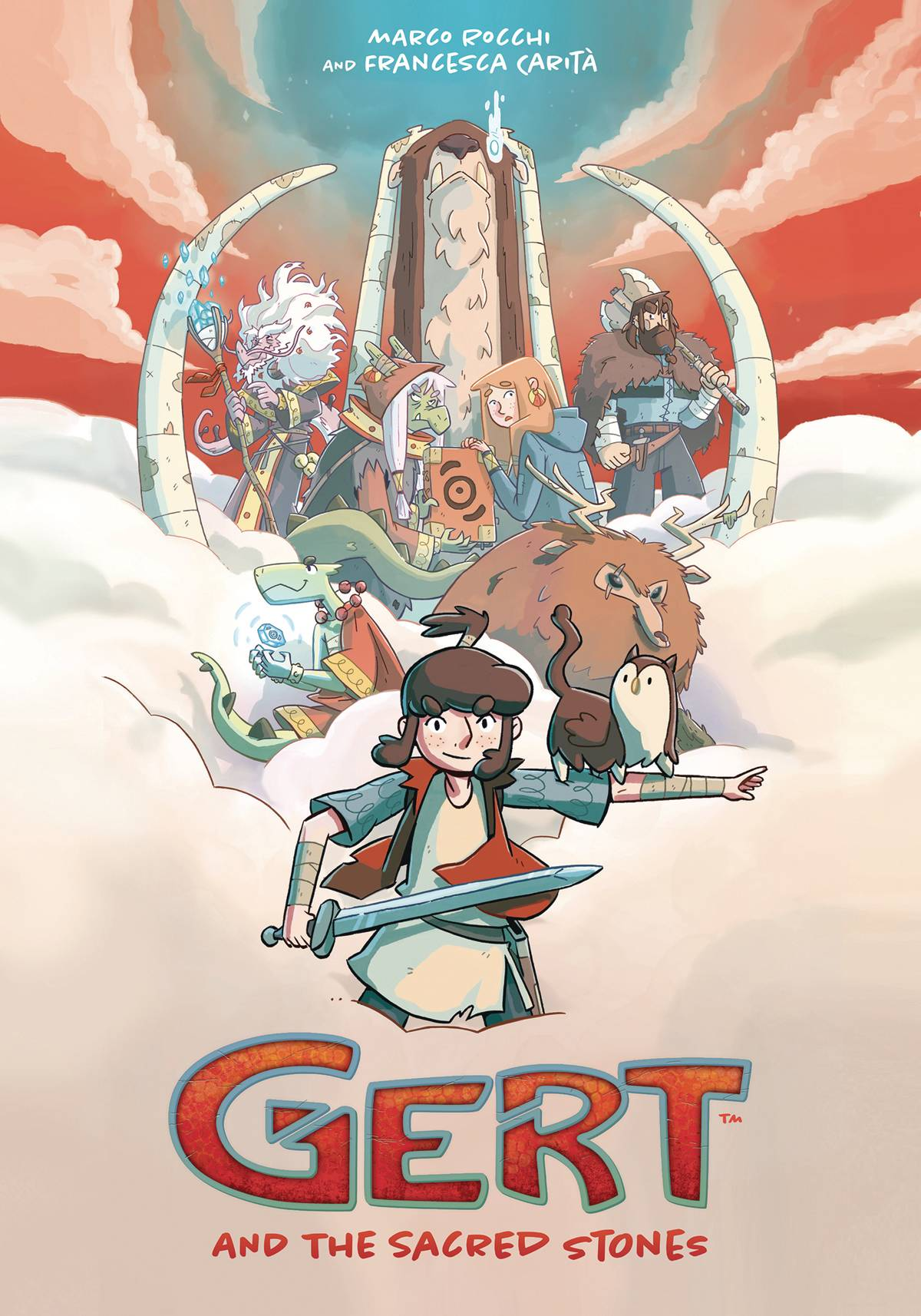 GERT & THE SACRED STONES TP (RES)