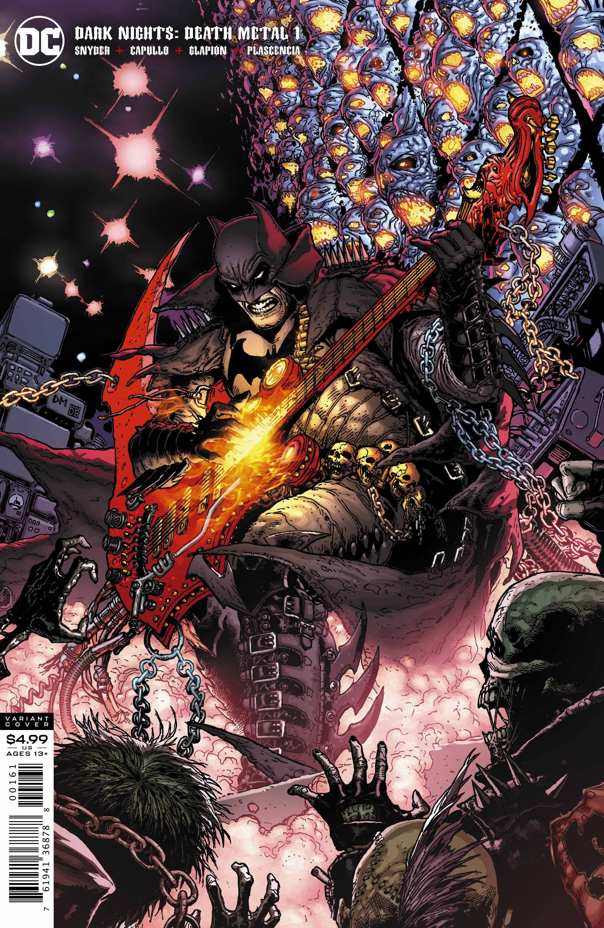 DARK NIGHTS DEATH METAL #1 (OF 6) 1 25 DOUG MAHNKE VAR ED