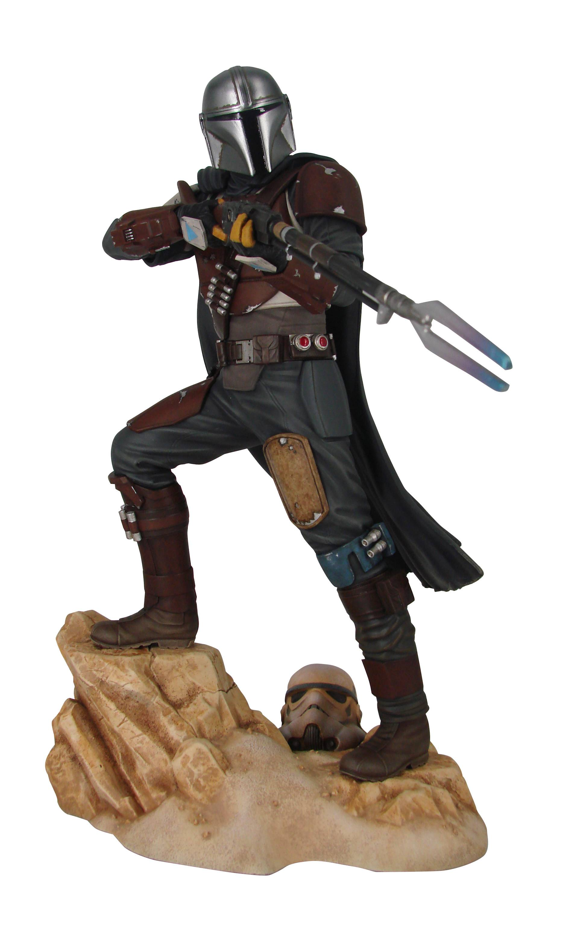 STAR WARS PREMIER COLLECTION THE MANDALORIAN MK1 STATUE (O/A