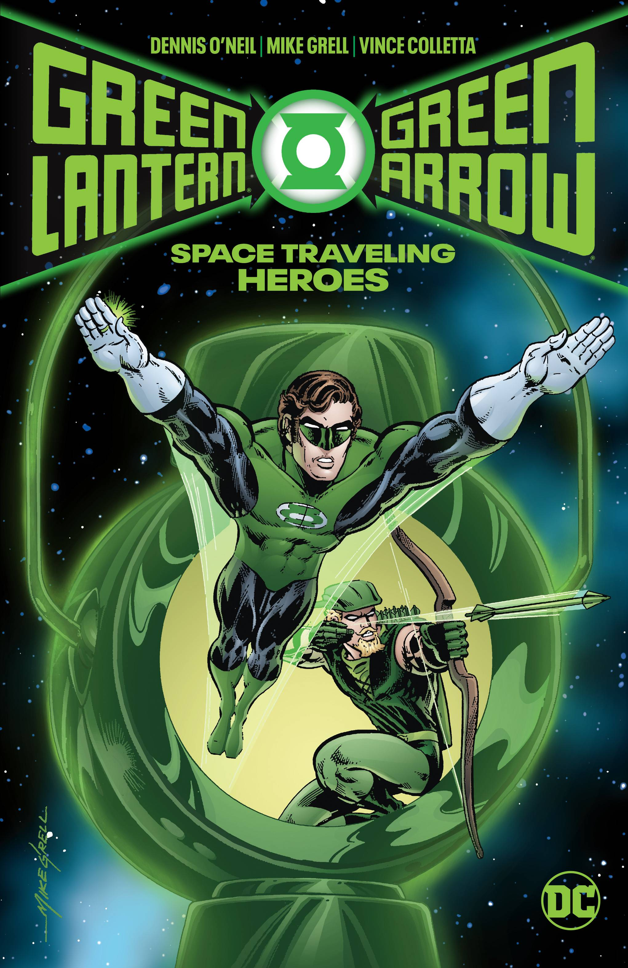 GREEN LANTERN GREEN ARROW SPACE TRAVELING HEROES HC (RES)