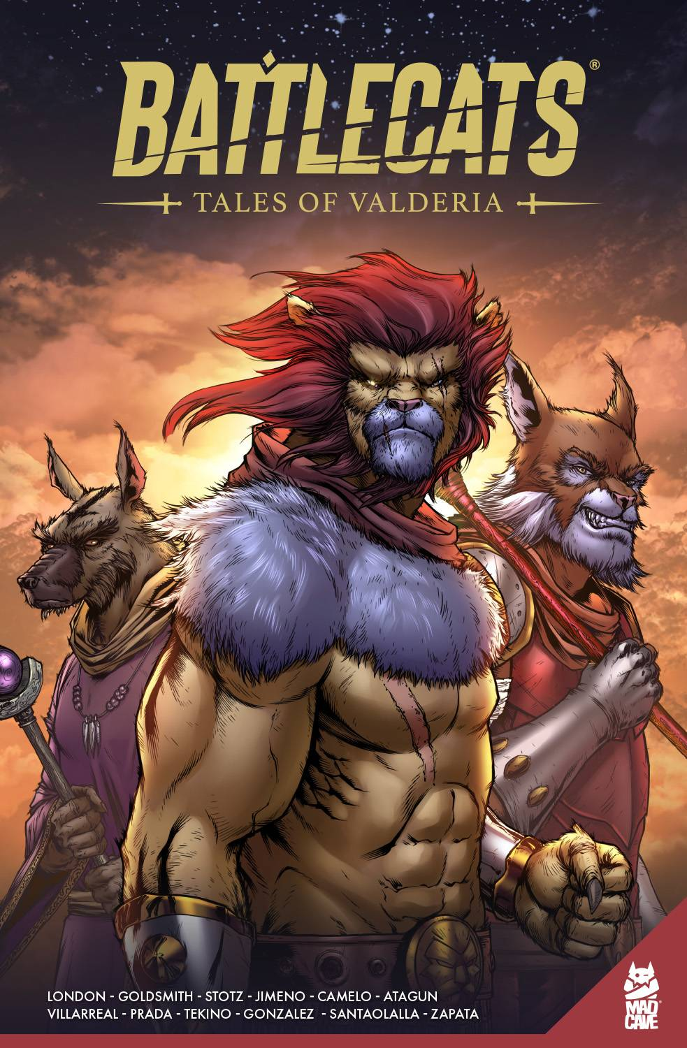BATTLECATS TALES OF VALDERIA TP VOL 01 (RES)