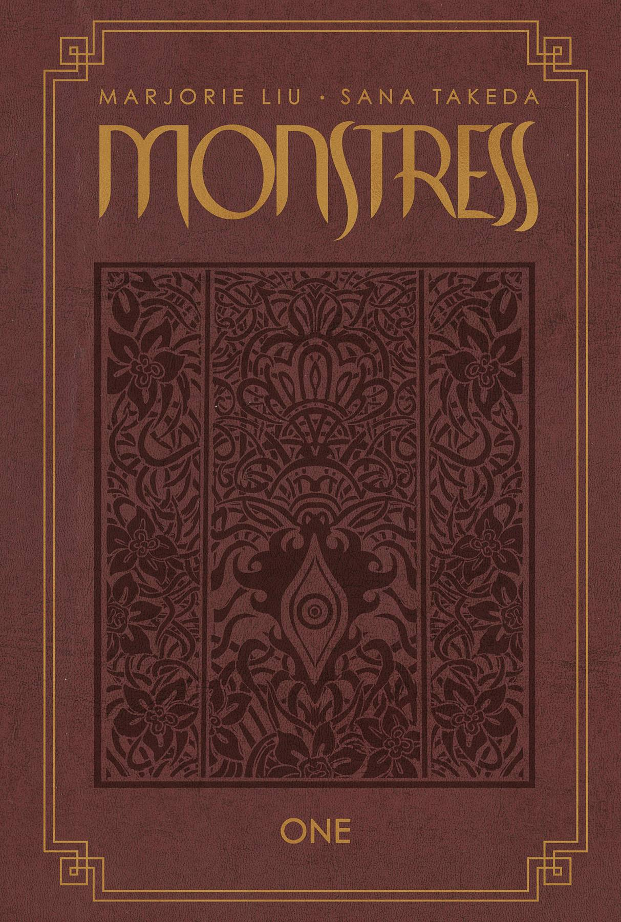 MONSTRESS HC VOL 01 DLX SGN LTD ED (MR)
