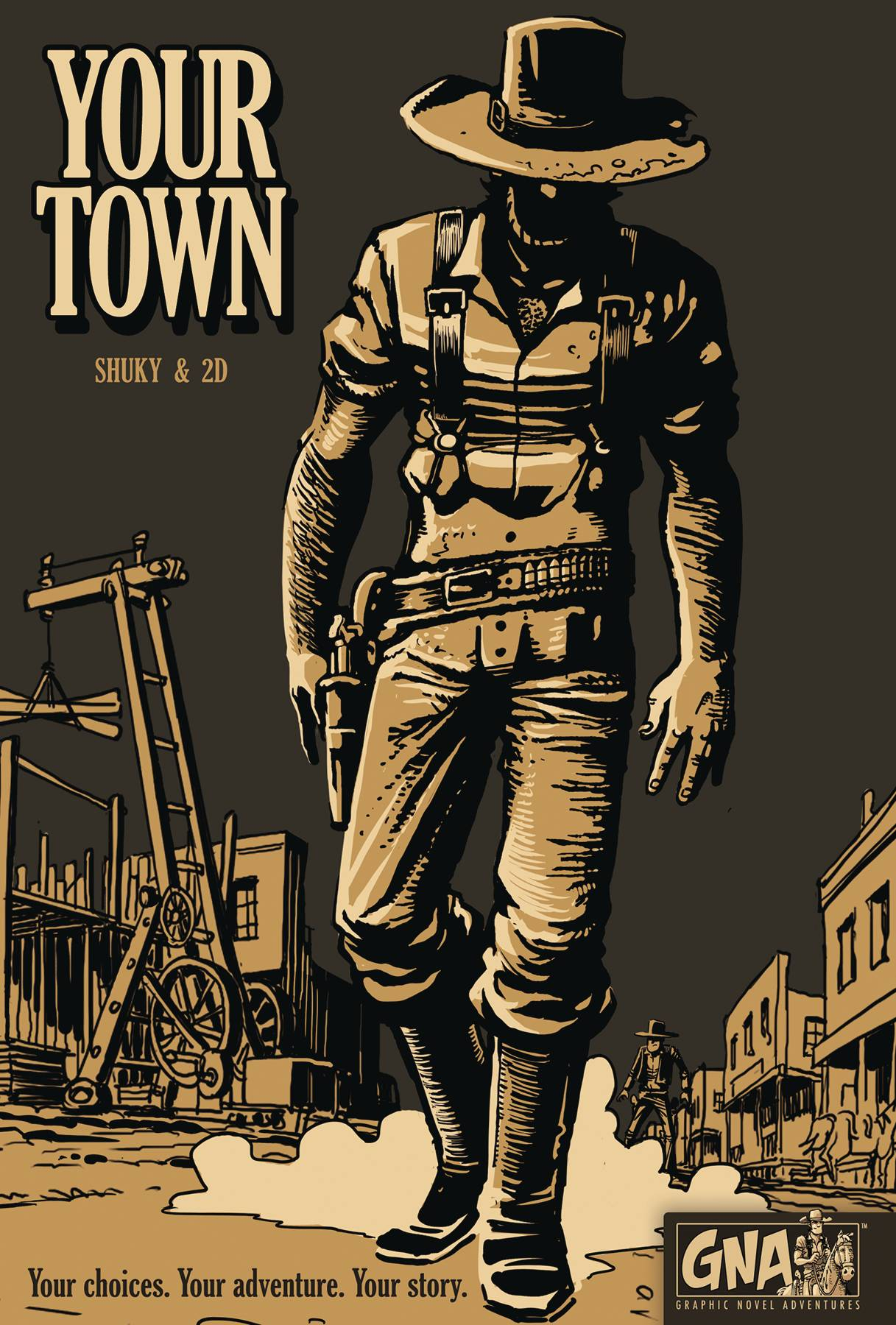 YOUR TOWN GRAPHIC NOVEL ADV HC