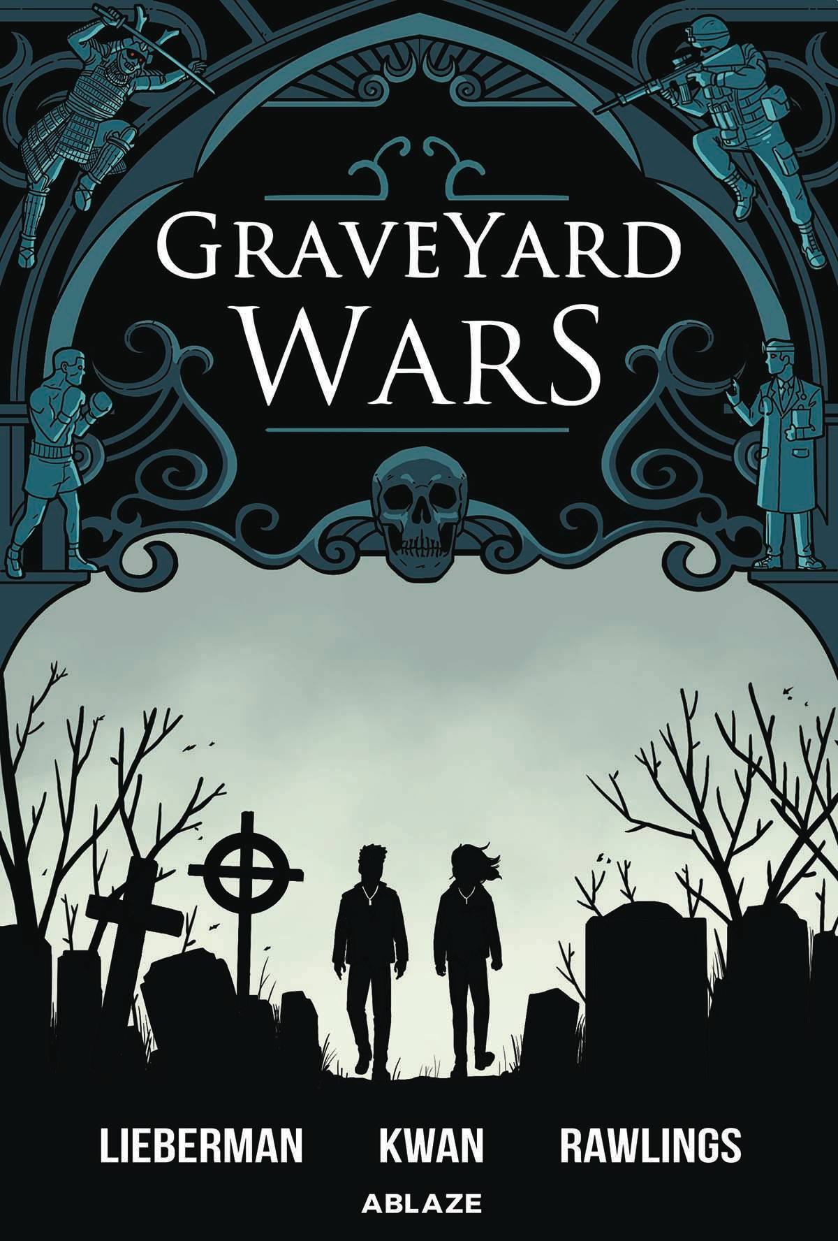 GRAVEYARD WARS HC GN VOL 01