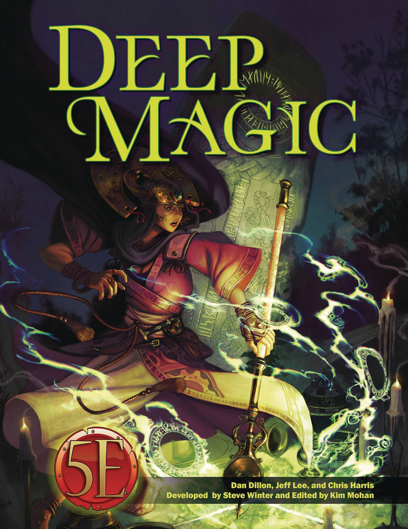 DEEP MAGIC D&D 5TH ED HC