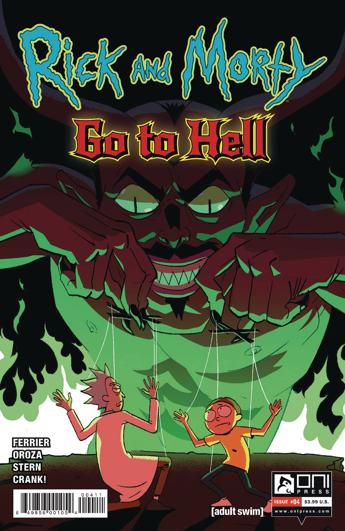 RICK AND MORTY GO TO HELL #4 CVR A OROZA