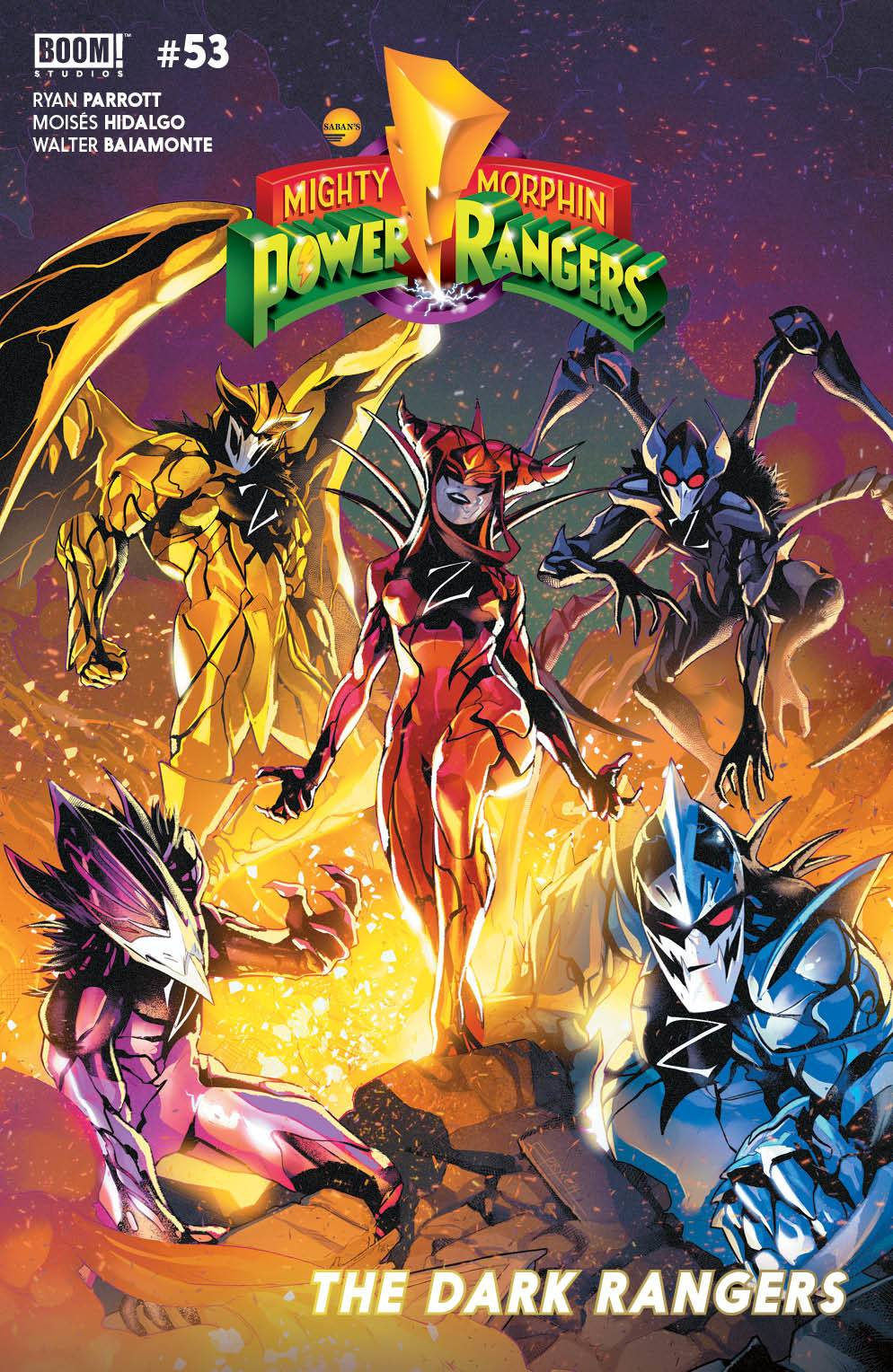 MIGHTY MORPHIN POWER RANGERS #53 CVR A CAMPBELL