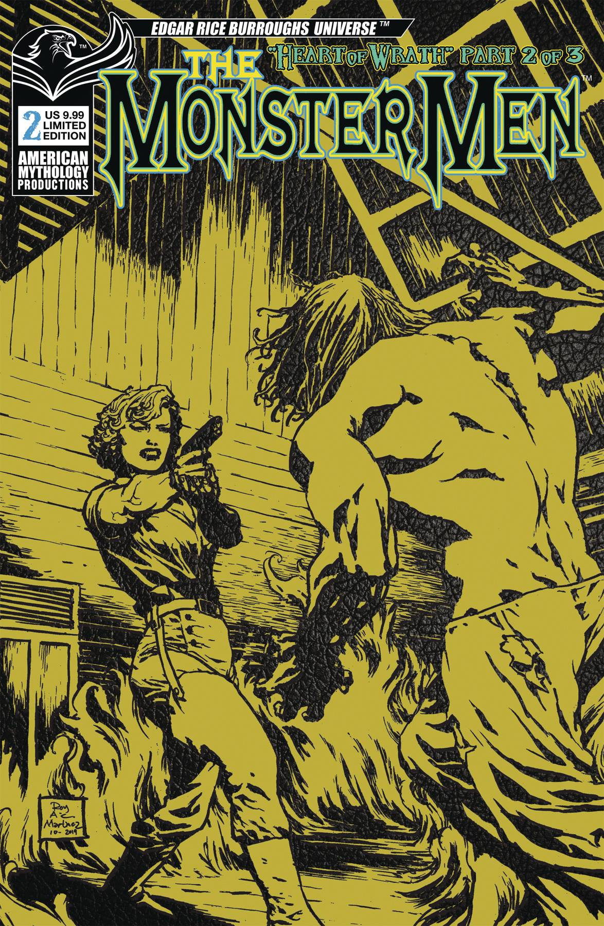 MONSTER MEN #2 PULP LTD ED VAR (MR)
