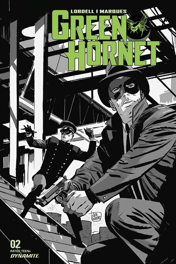 GREEN HORNET #2 20 COPY WEEKS B&W INCV