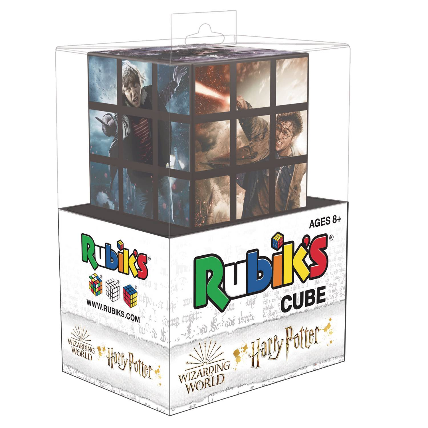 RUBIKS CUBE HARRY POTTER BATTLE OF HOGWARTS