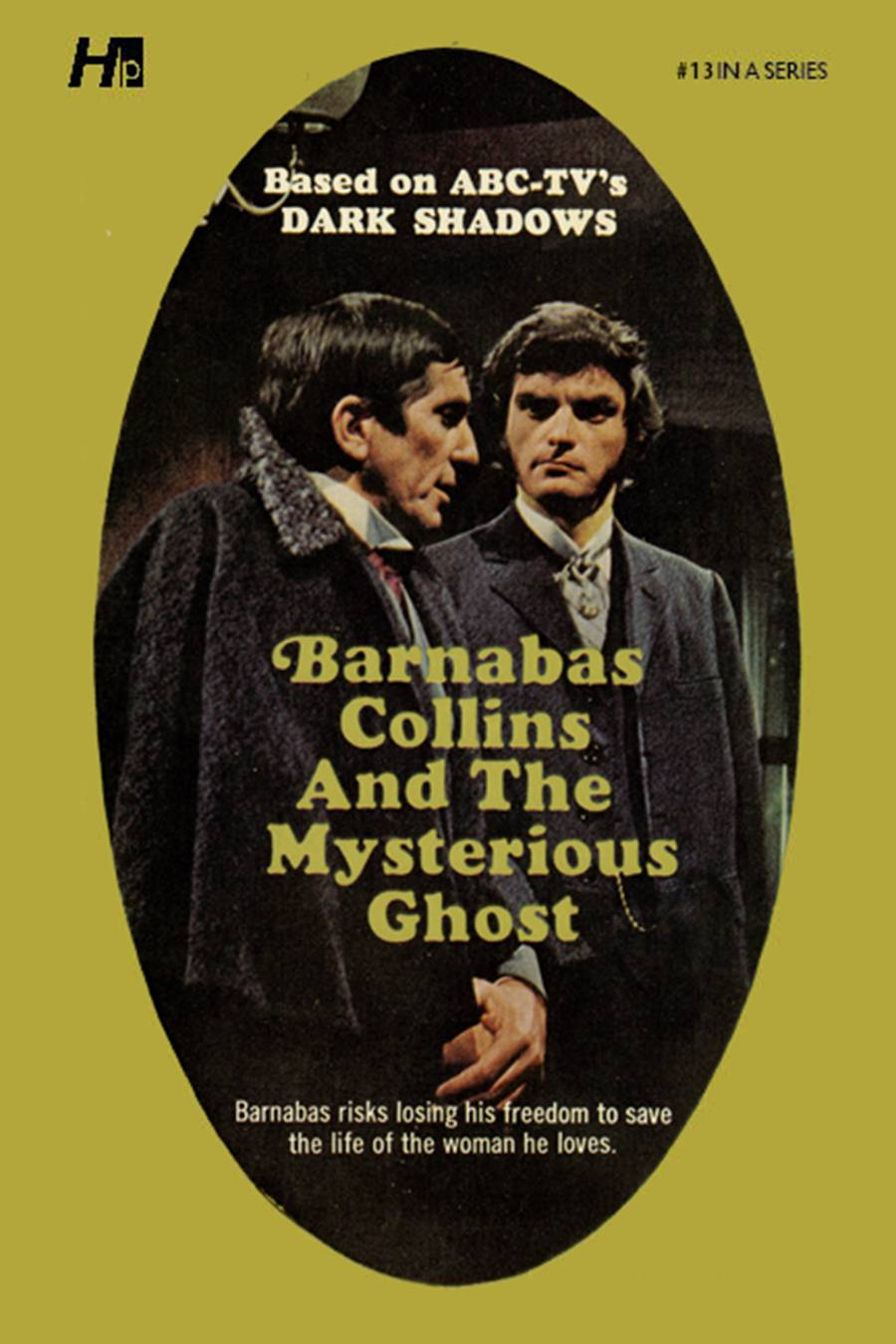 DARK SHADOWS PAPERBACK LIBRARY NOVEL VOL 13 MYSTERIOUS GHOST