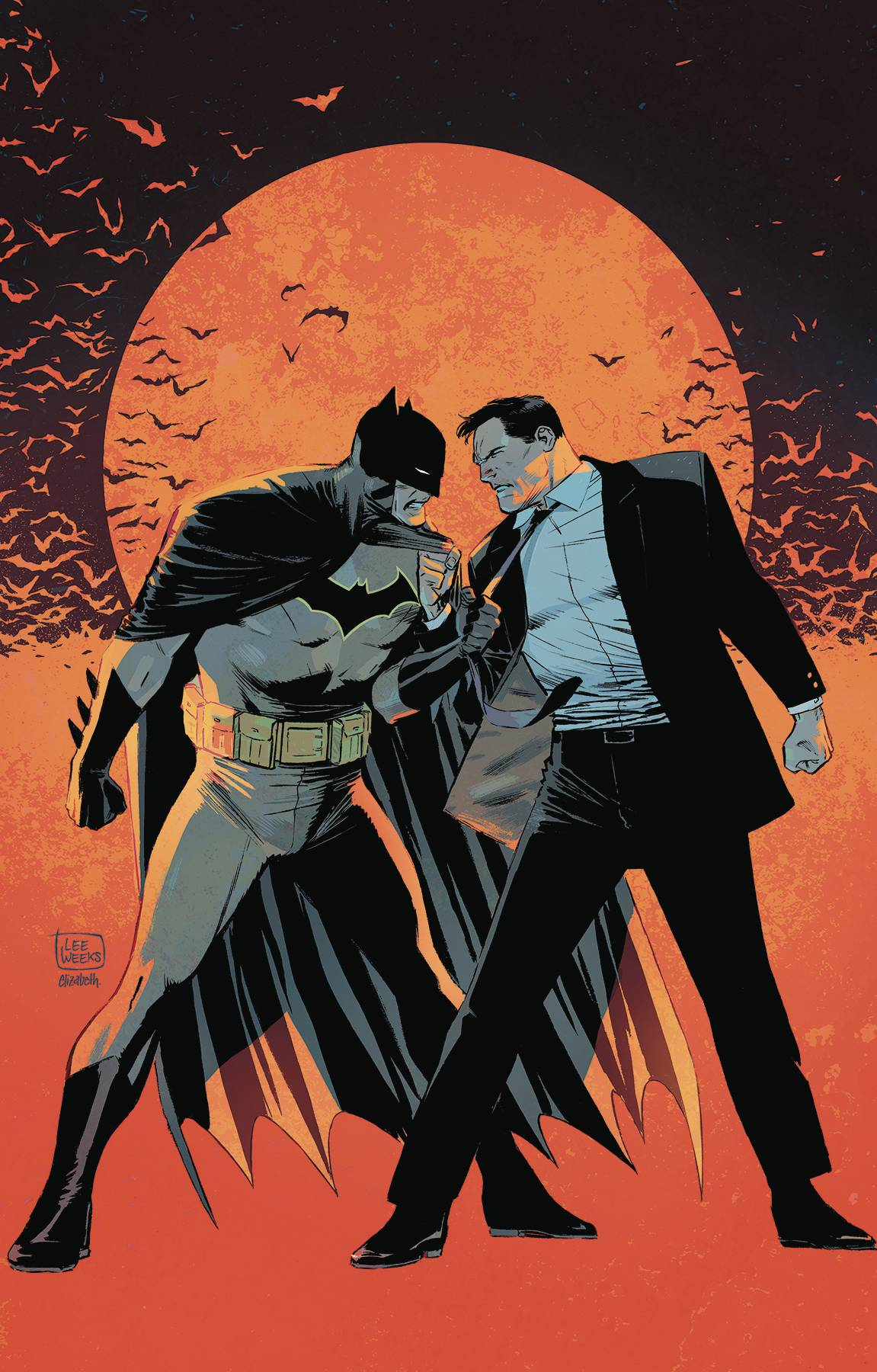 BATMAN BY TOM KING & LEE WEEKS DLX ED HC