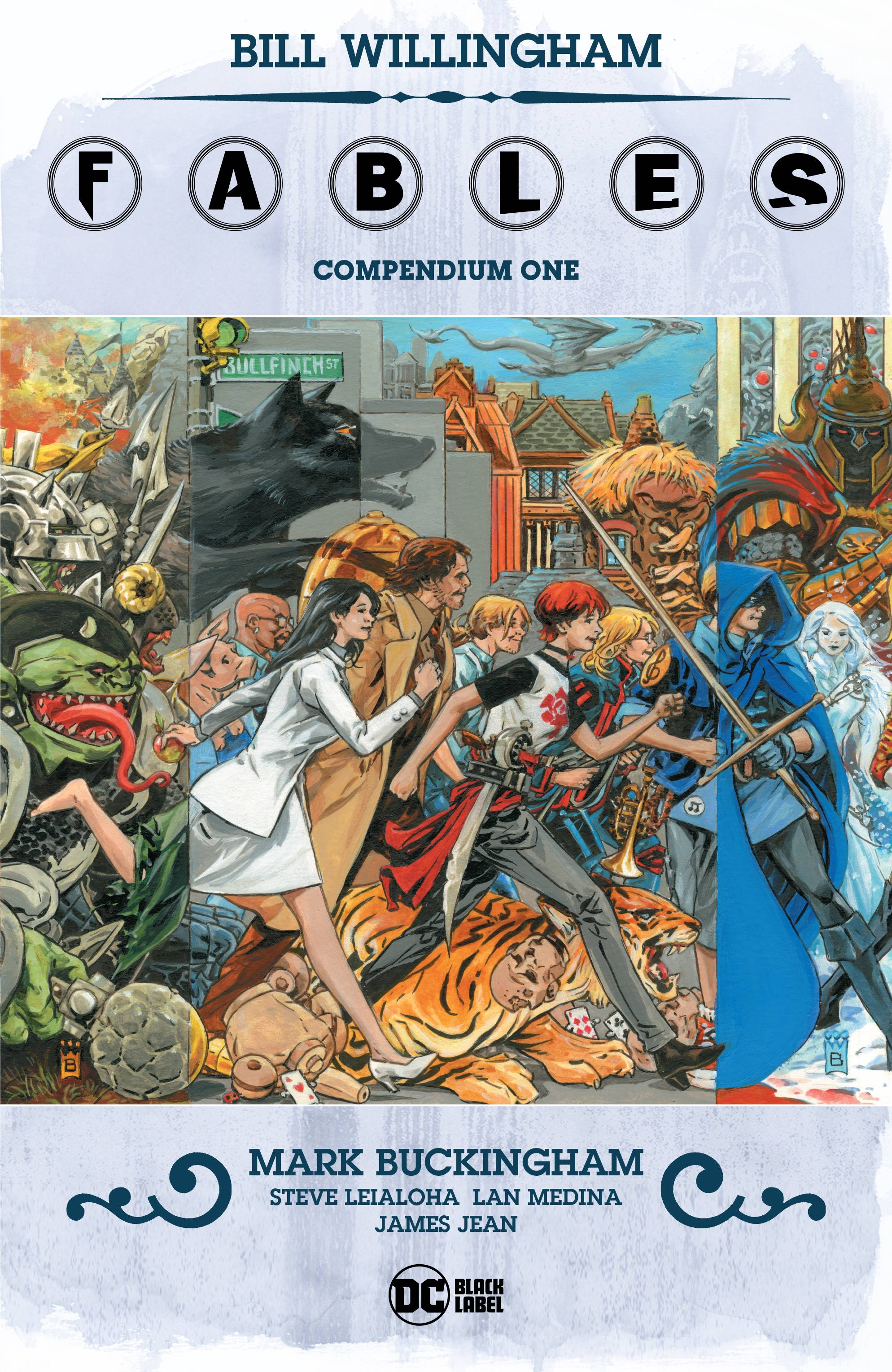 FABLES COMPENDIUM TP VOL 01 (MR)