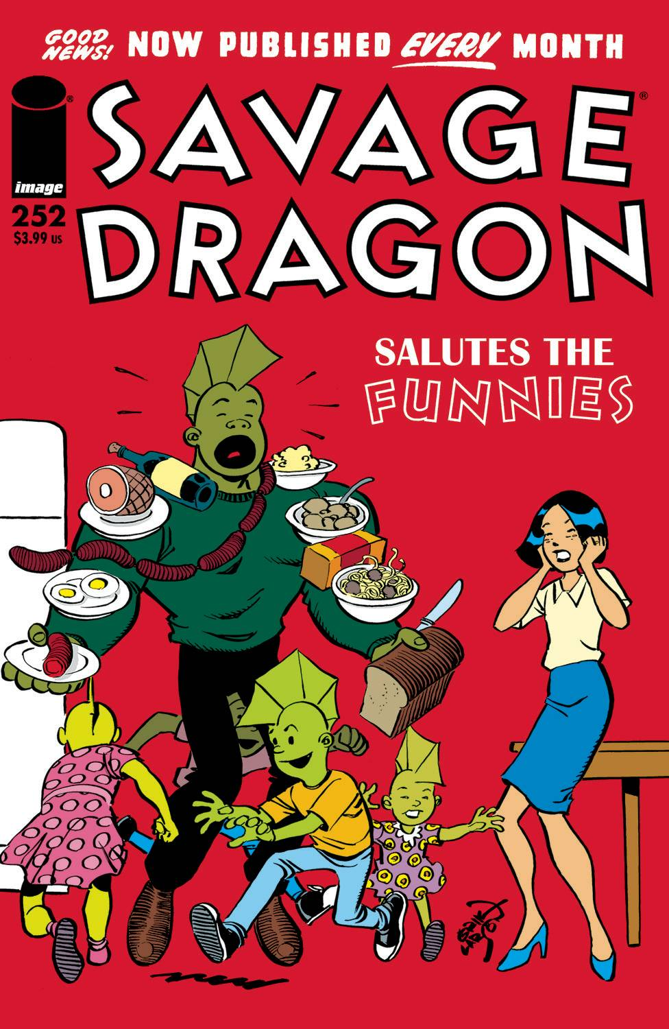 SAVAGE DRAGON #252 (MR)