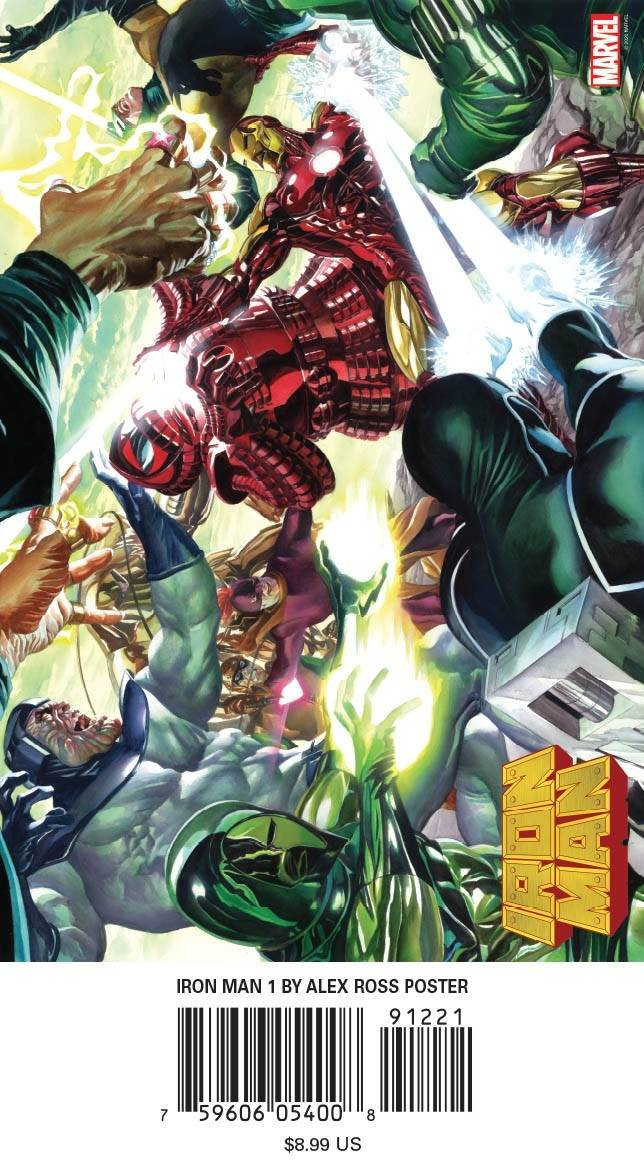 IRON MAN #1 BY ALEX ROSS POSTER