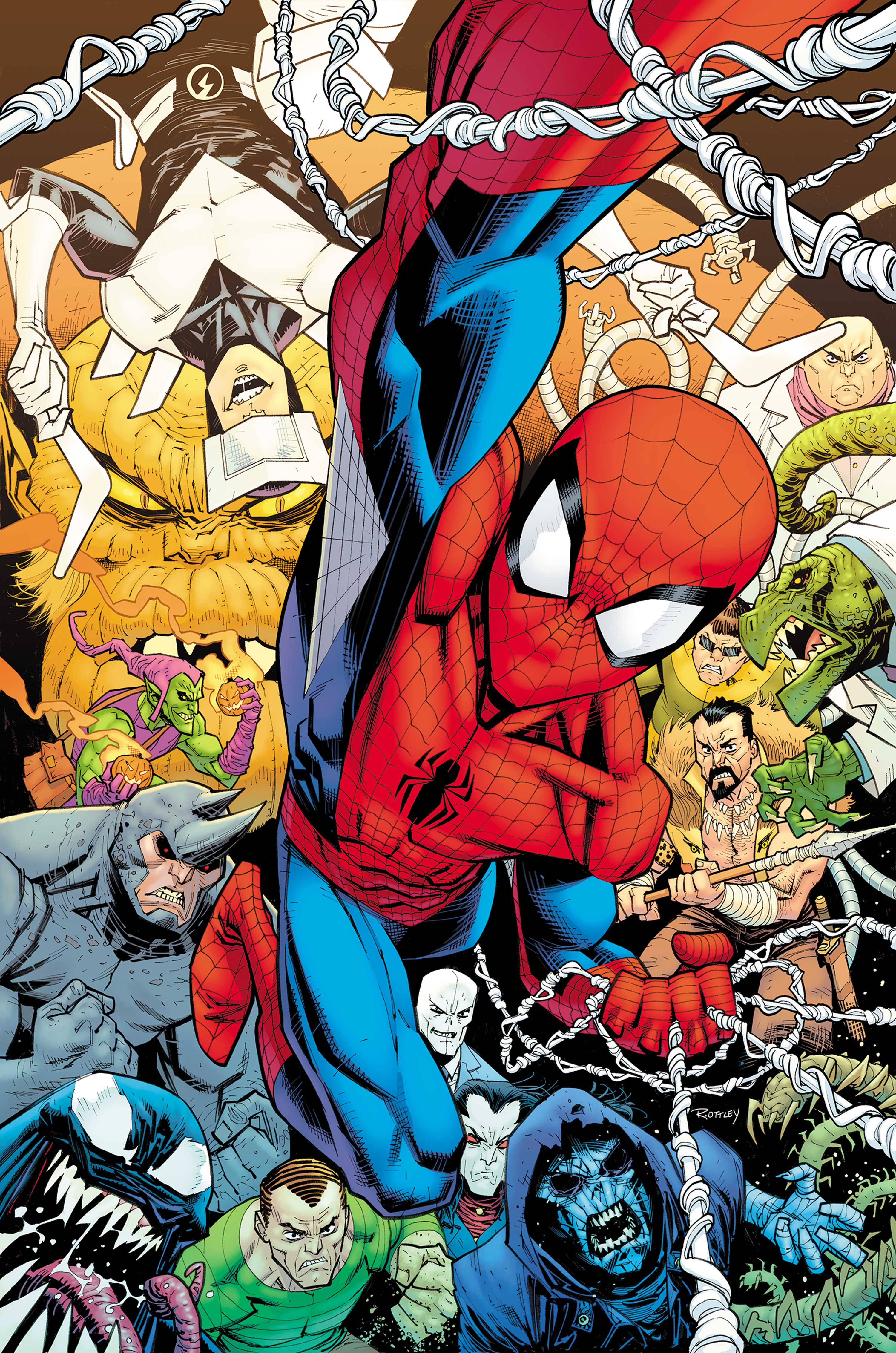 AMAZING SPIDER-MAN #850 BY RYAN OTTLEY POSTER