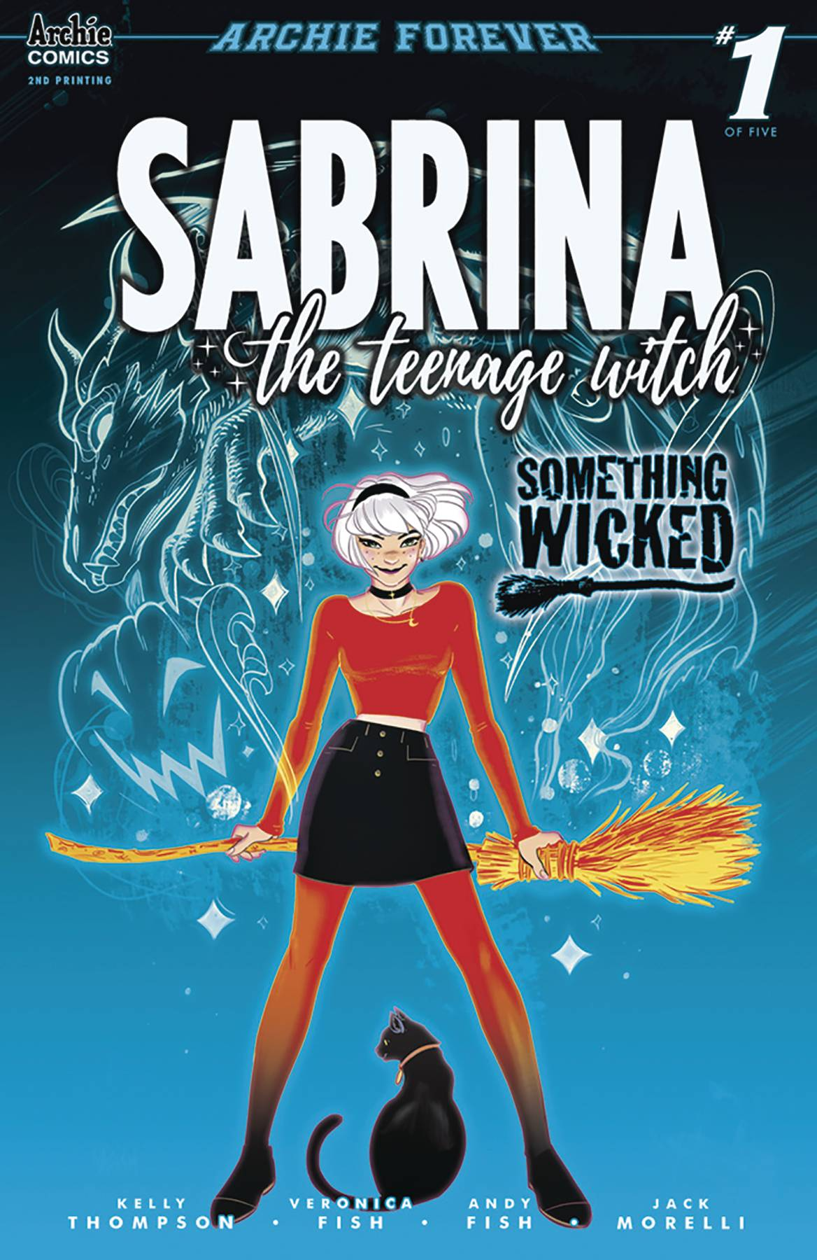 SABRINA SOMETHING WICKED #1 (OF 5) 2ND PTG