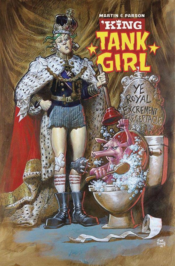 KING TANK GIRL #1 (OF 5) CVR B POWELL CARDSTOCK