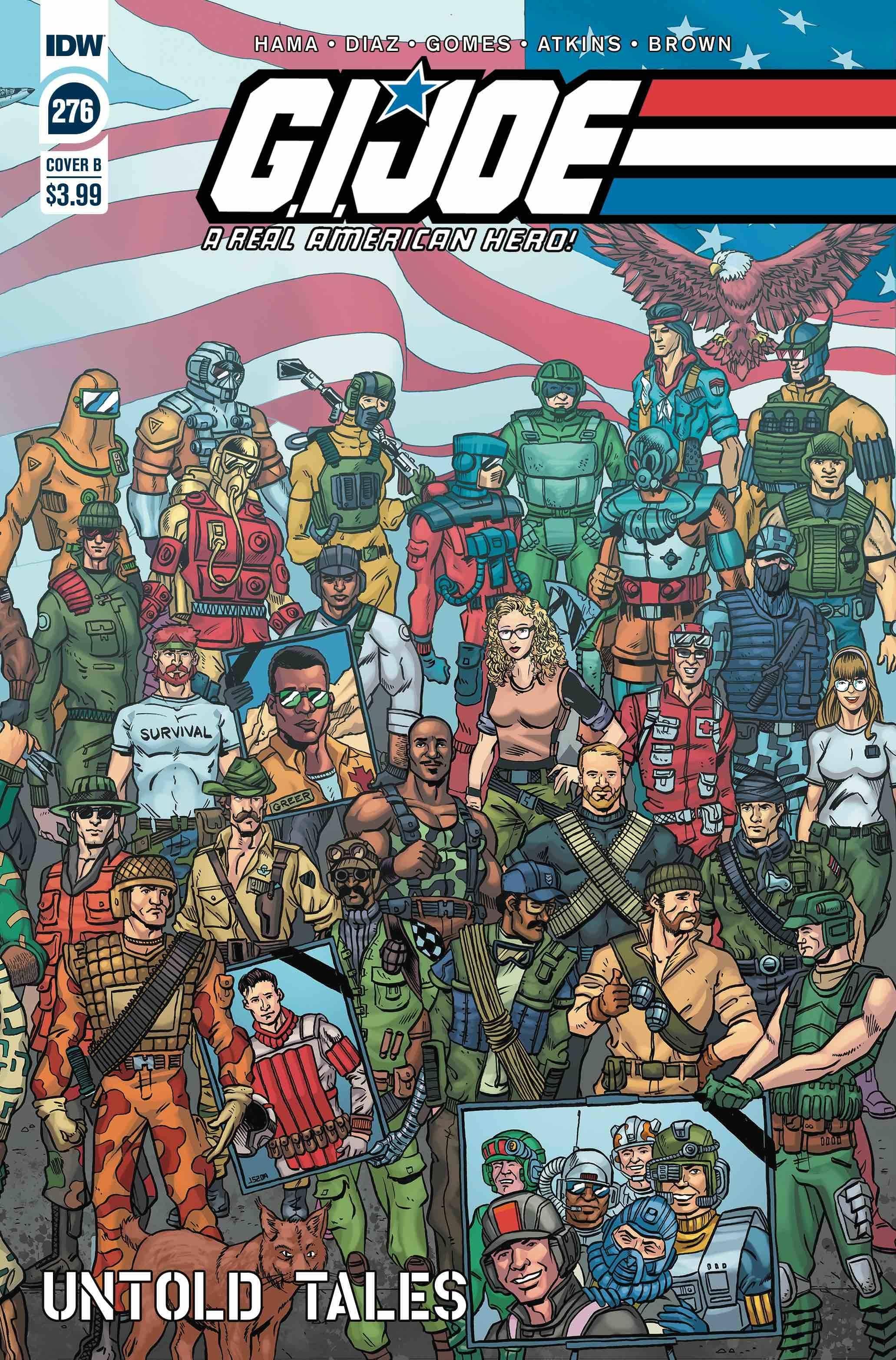 GI JOE A REAL AMERICAN HERO #276 CVR B SHEARER