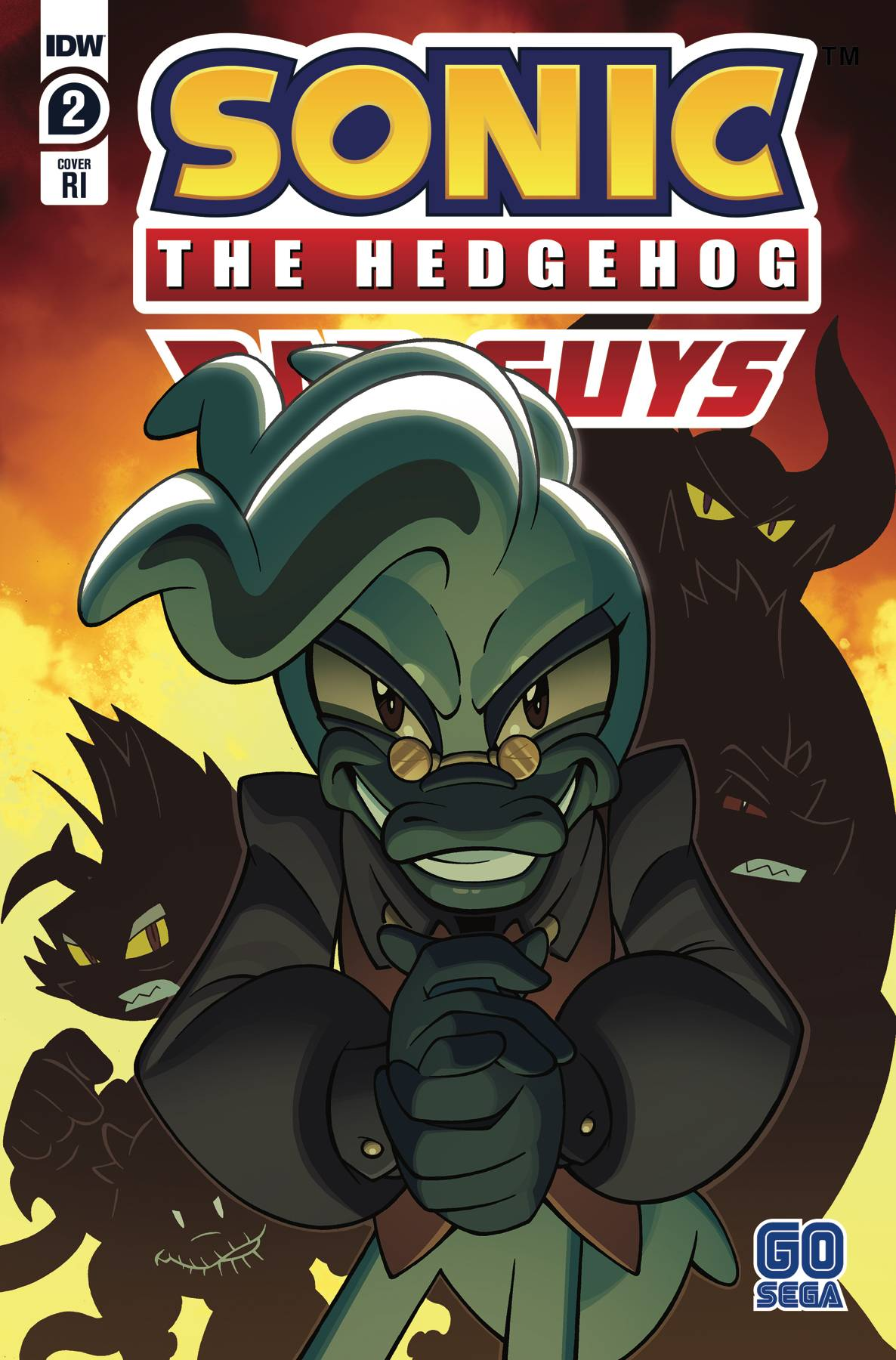 SONIC THE HEDGEHOG BAD GUYS #2 (OF 4) 10 COPY INCV LAWRENCE