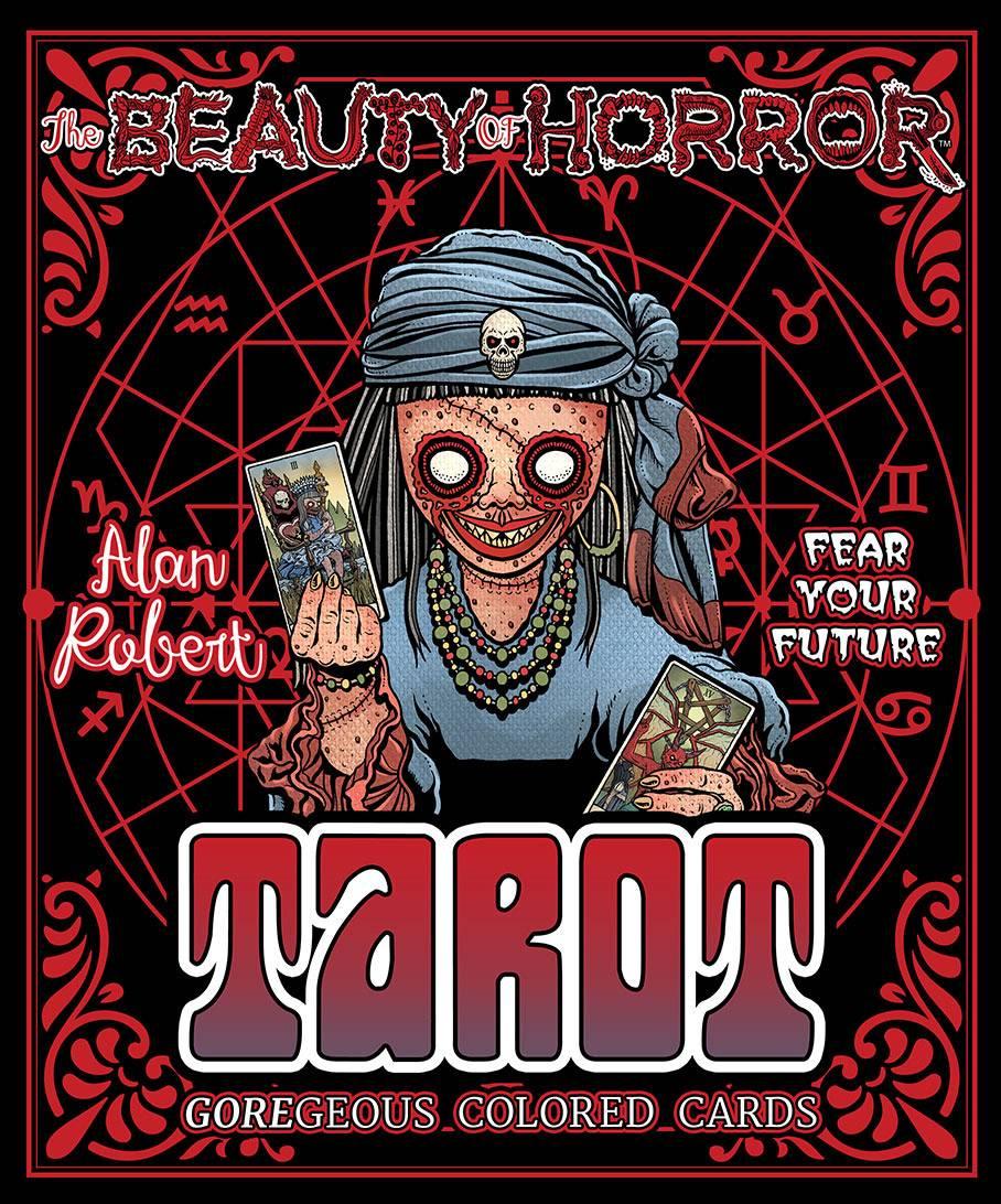 BEAUTY OF HORROR COLOR YOUR DESTINY TAROT DECK