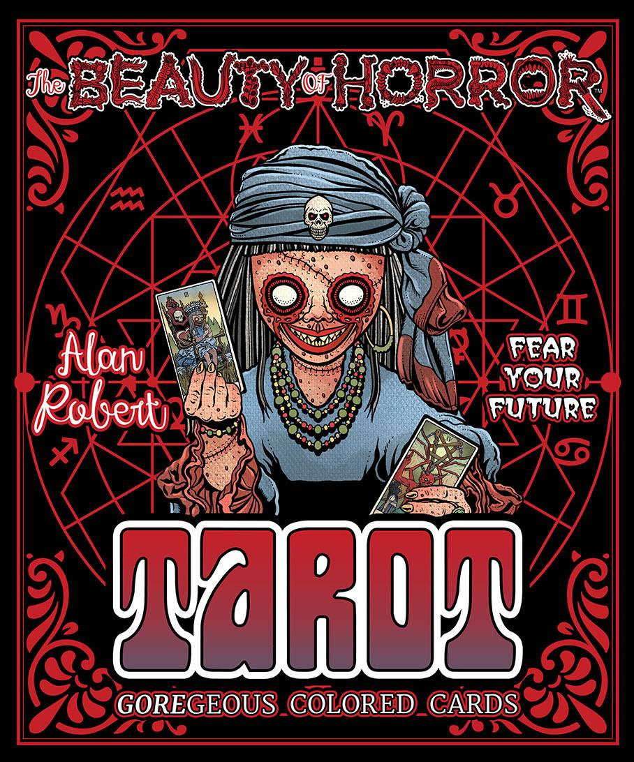 BEAUTY OF HORROR FEAR YOUR FUTURE TAROT DECK